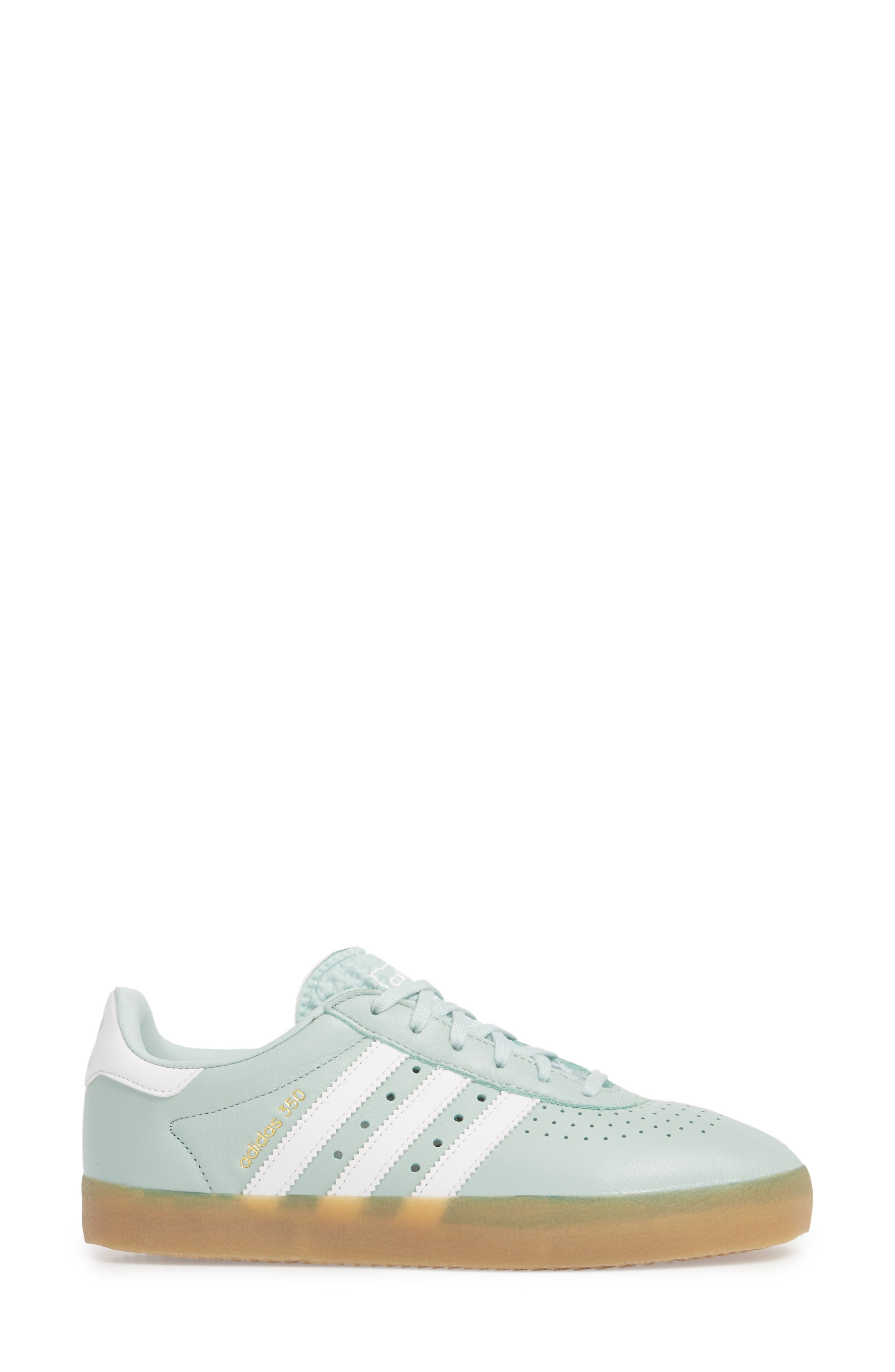350 Sneaker,                             Alternate thumbnail 3, color,                             Ash Green/ White/ Gum