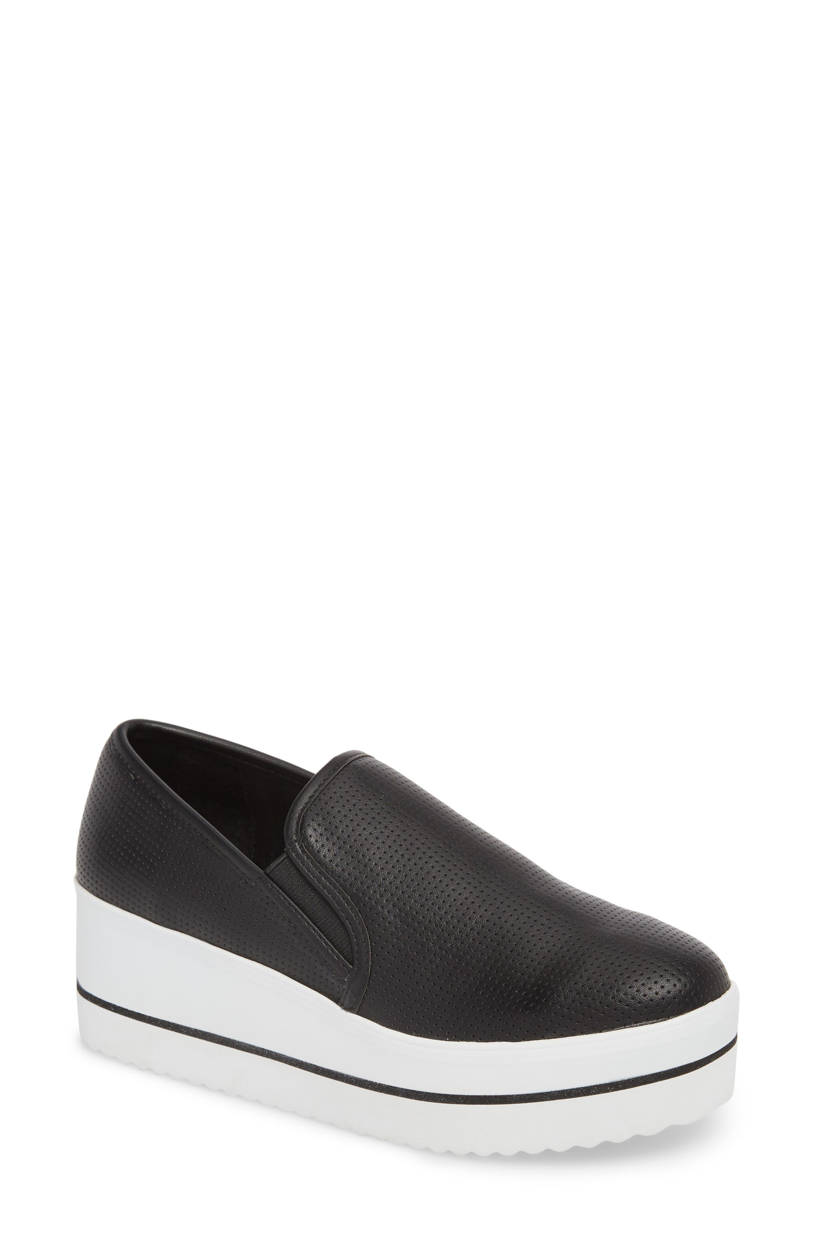 Becca Slip-On Sneaker,                             Main thumbnail 1, color,                             Black
