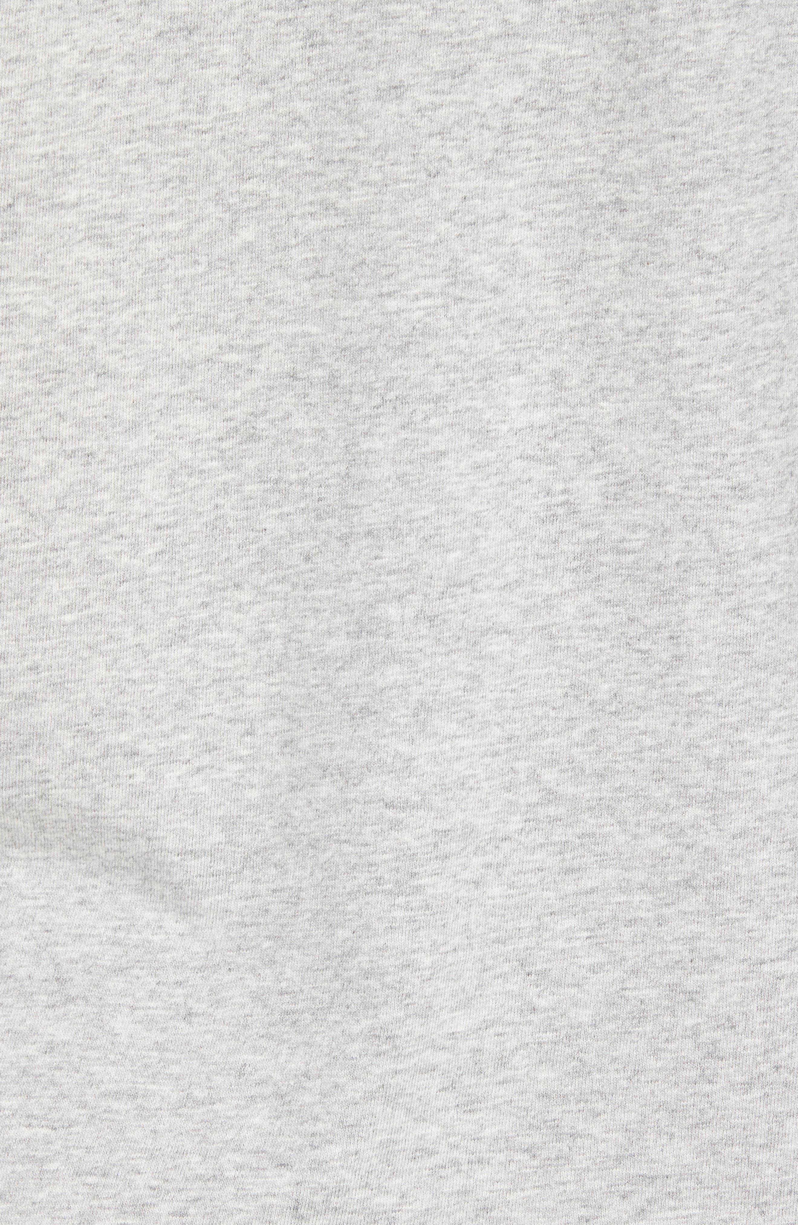 x Shark Week<sup>™</sup> Sharks & Stripes Pocket T-Shirt,                             Alternate thumbnail 7, color,                             Grey Heather