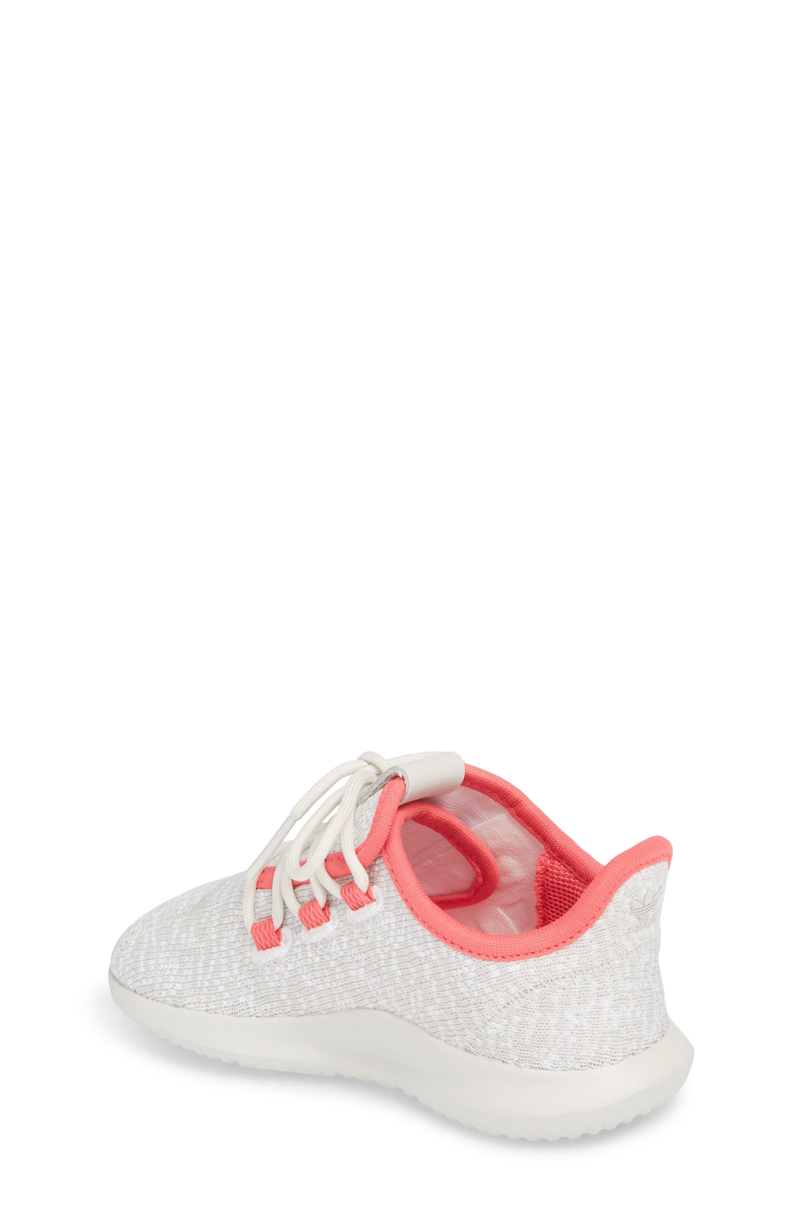 Tubular Shadow Sneaker,                             Alternate thumbnail 2, color,                             Grey/ Ash Pink/ White