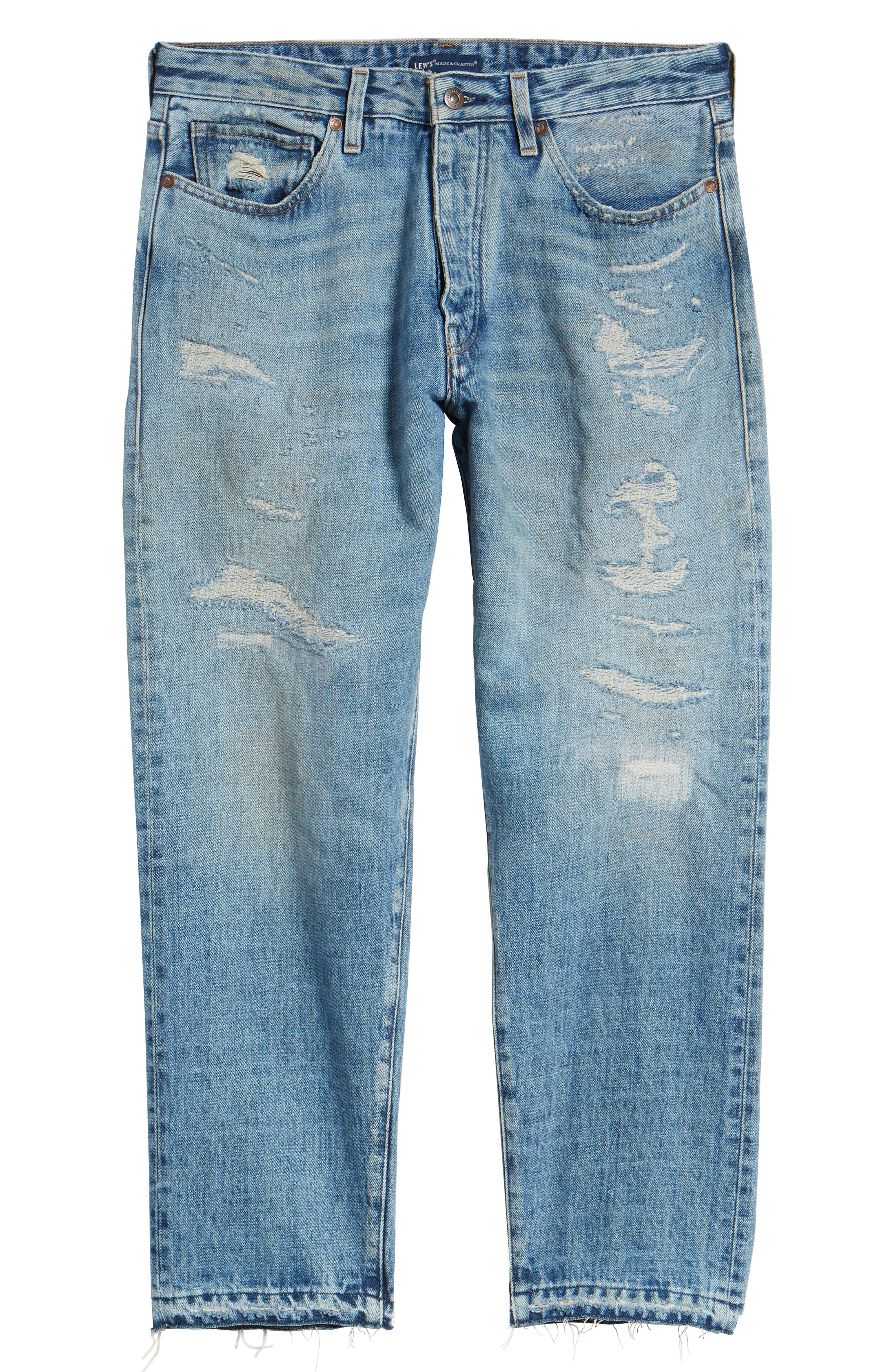 Draft Taper Standard Fit Jeans,                             Alternate thumbnail 6, color,                             Banzai Pipeline