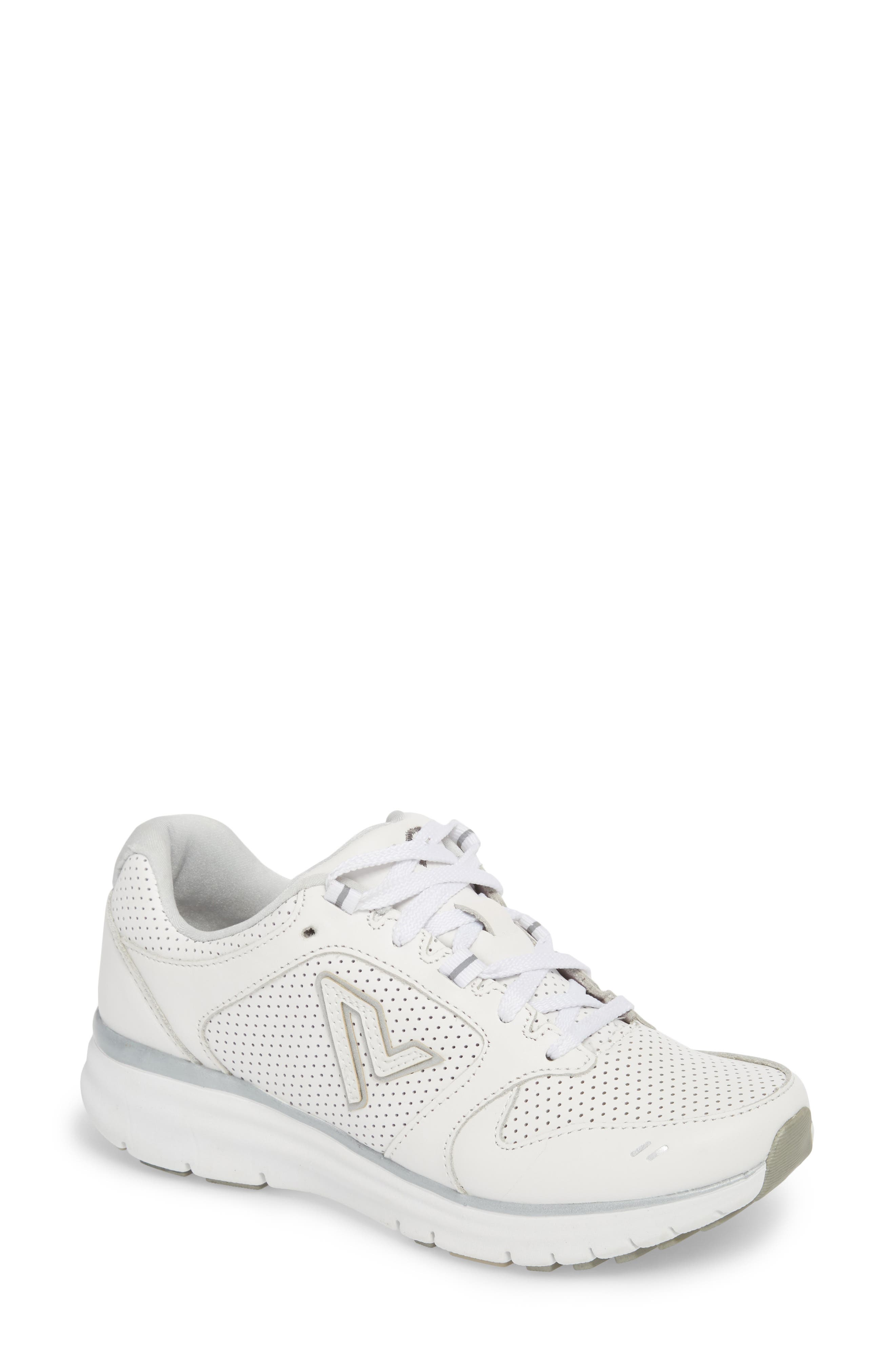 Thrill Sneaker,                         Main,                         color, White Suede