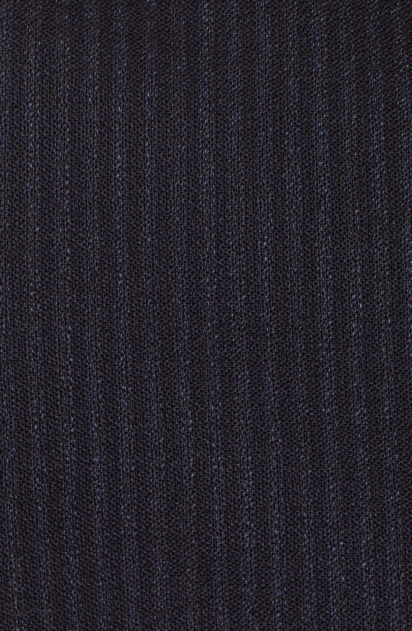 Jasyma Tonal Stripe Stretch Wool Suit Jacket,                             Alternate thumbnail 5, color,                             Navy Fantasy