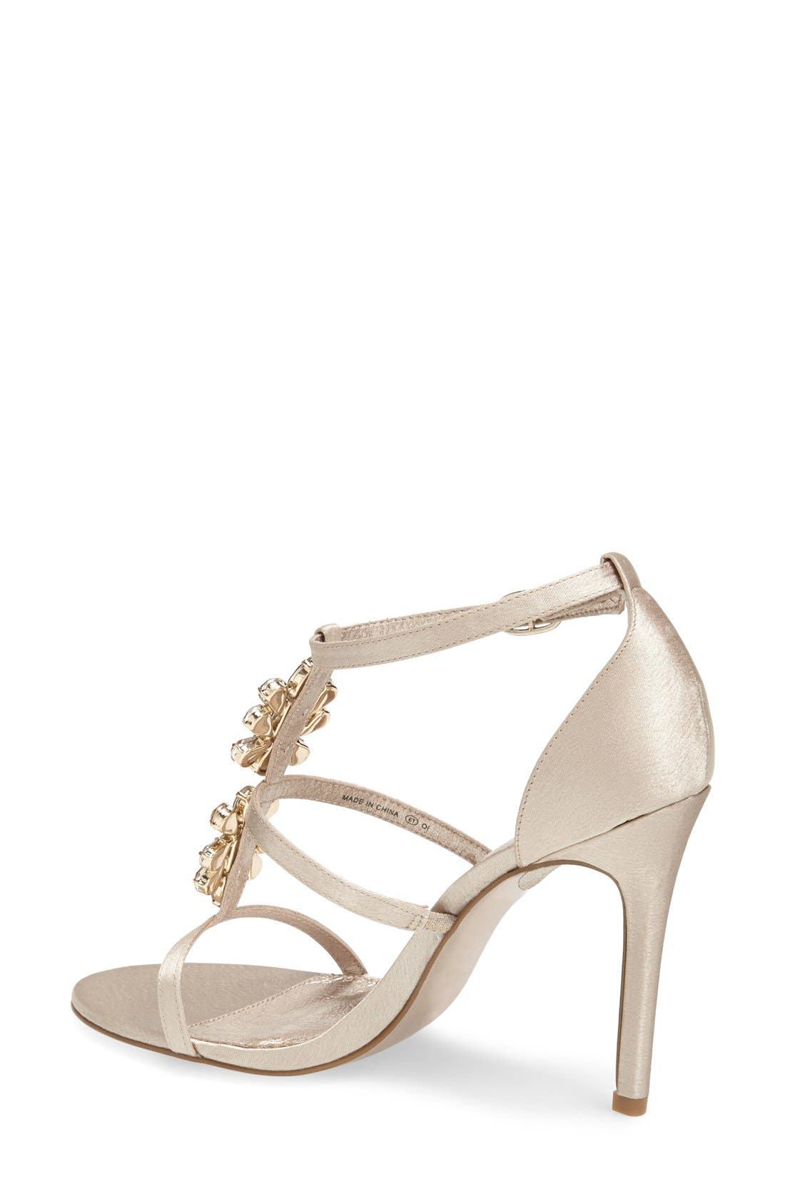 Alternate Image 4  - Adrianna Papell 'Daphne' Jeweled Strappy Sandal (Women)