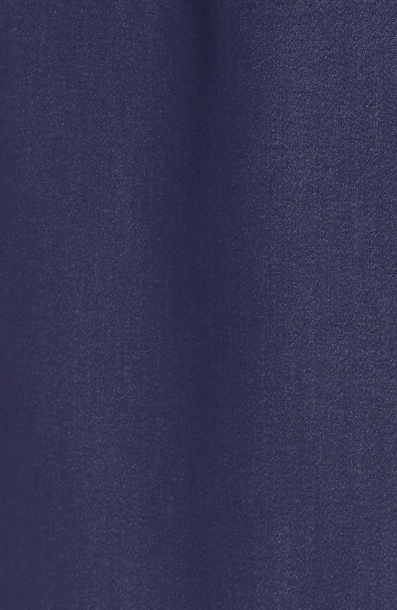 Denim Shirtdress,                             Alternate thumbnail 6, color,                             Indigo