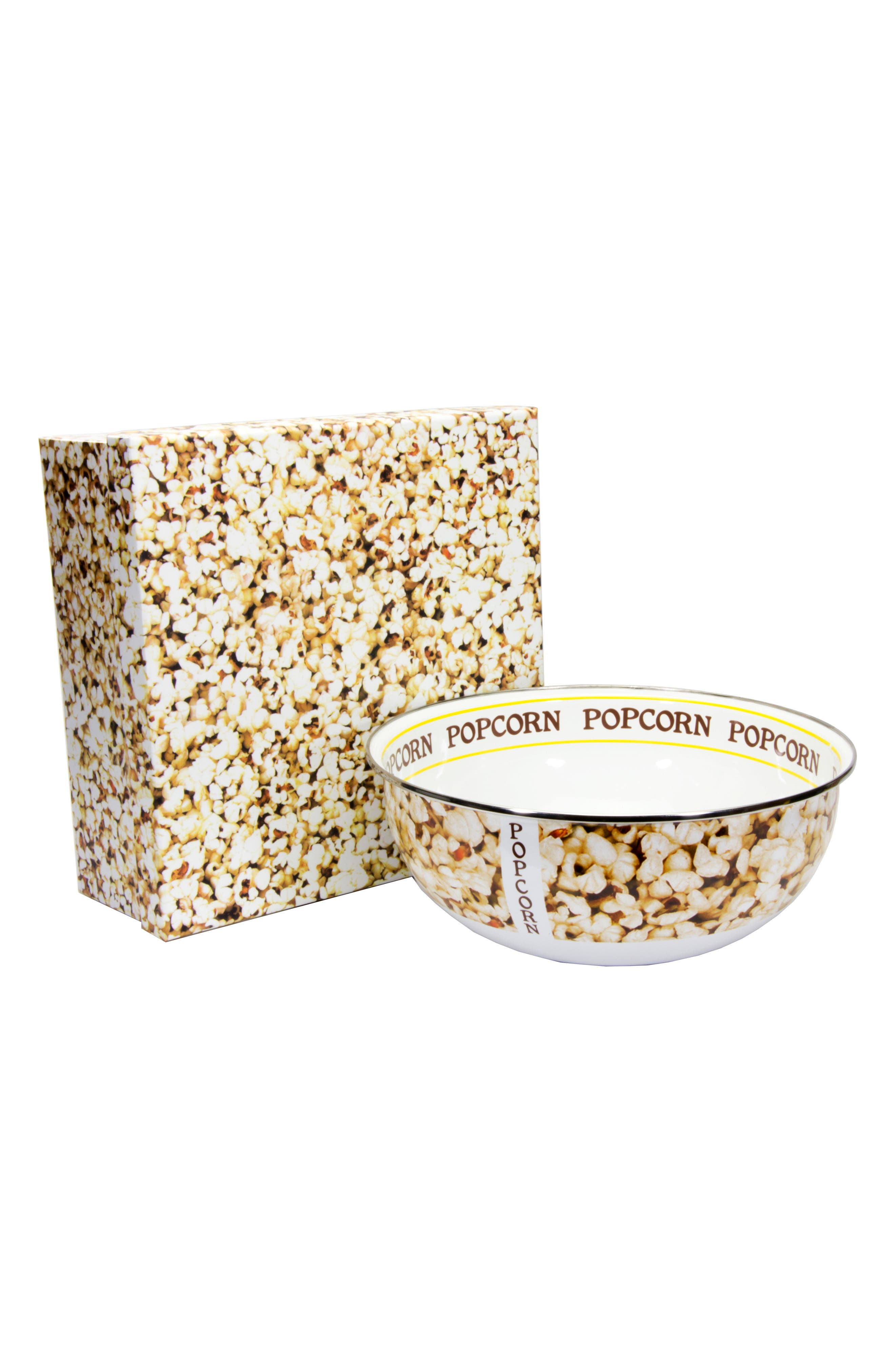 Golden Rabbit Popcorn Bowl