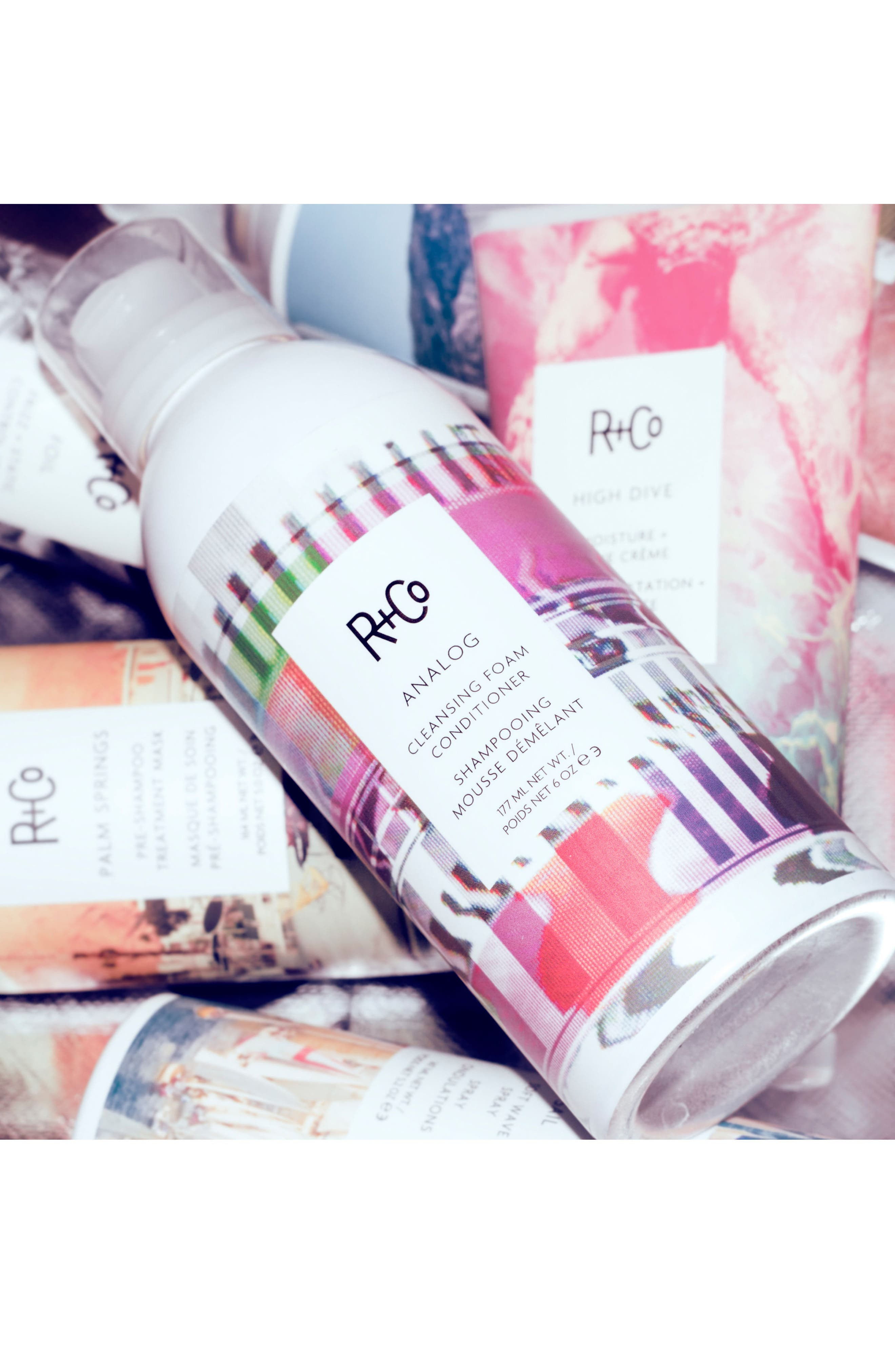 SPACE.NK.apothecary R+Co Analog Cleansing Foam Conditioner,                             Alternate thumbnail 4, color,                             No Color