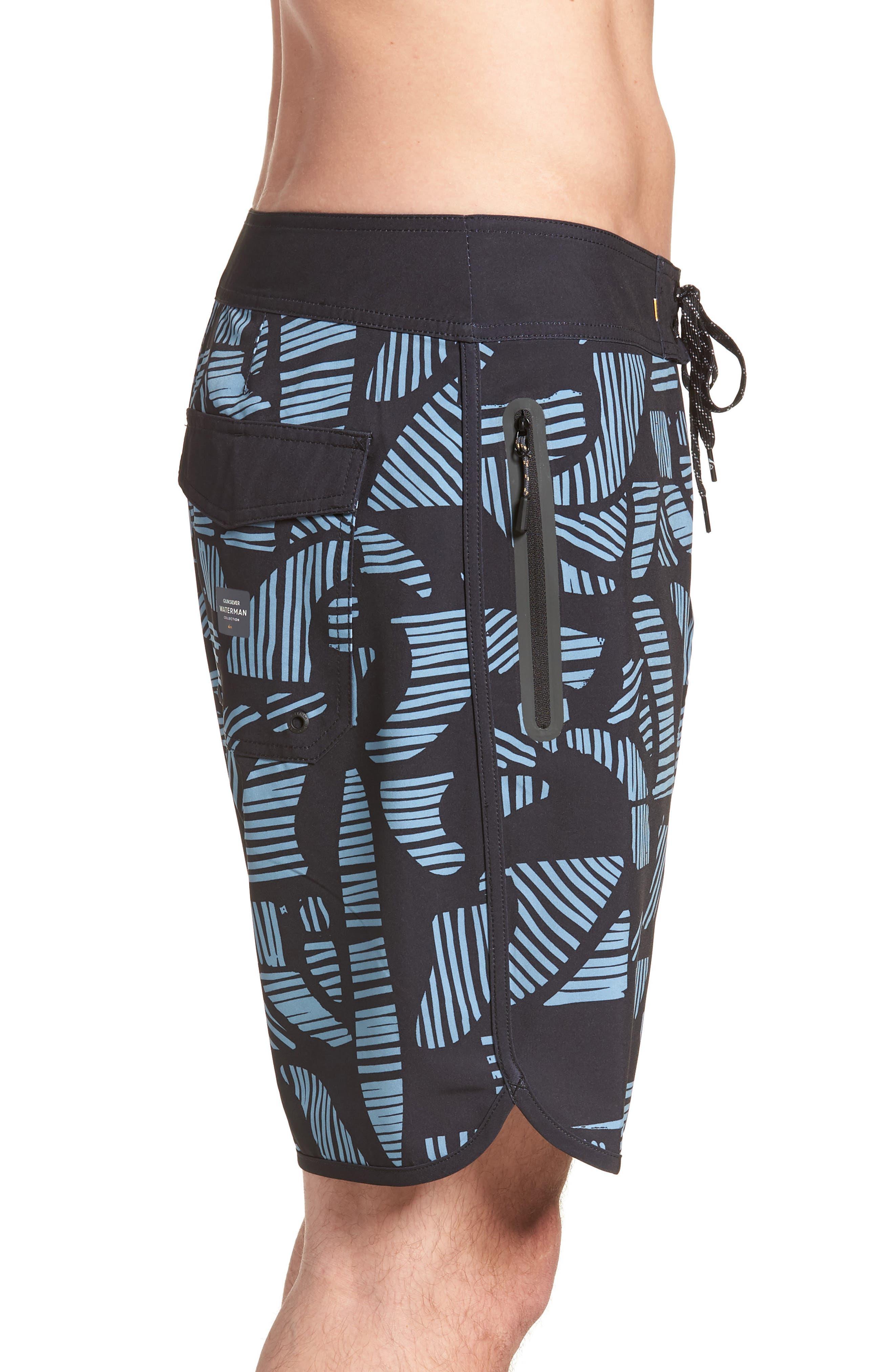 Odysea Board Shorts,                             Alternate thumbnail 3, color,                             Black
