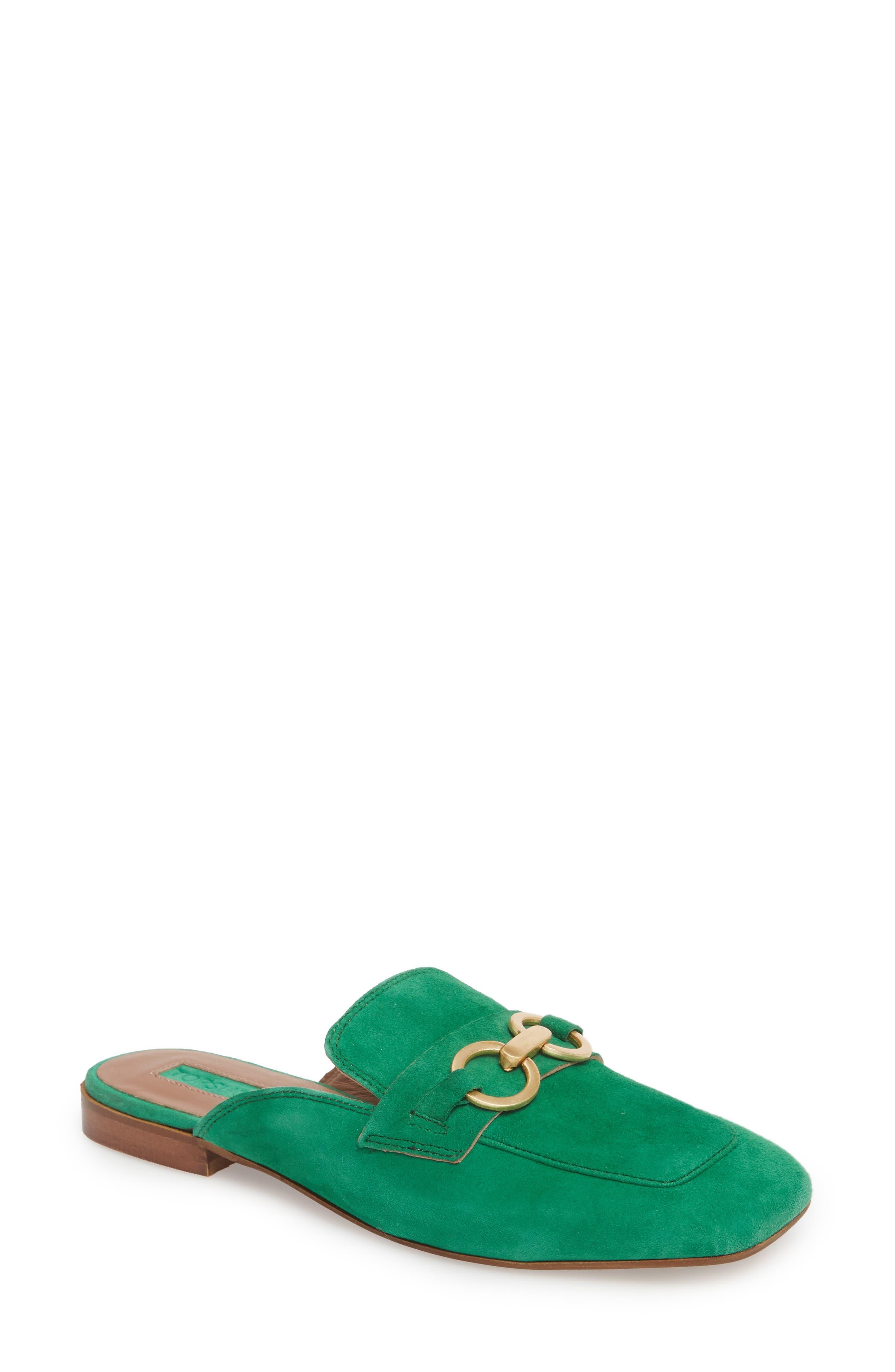 Kale Trim Loafer Mule,                         Main,                         color, Green Multi