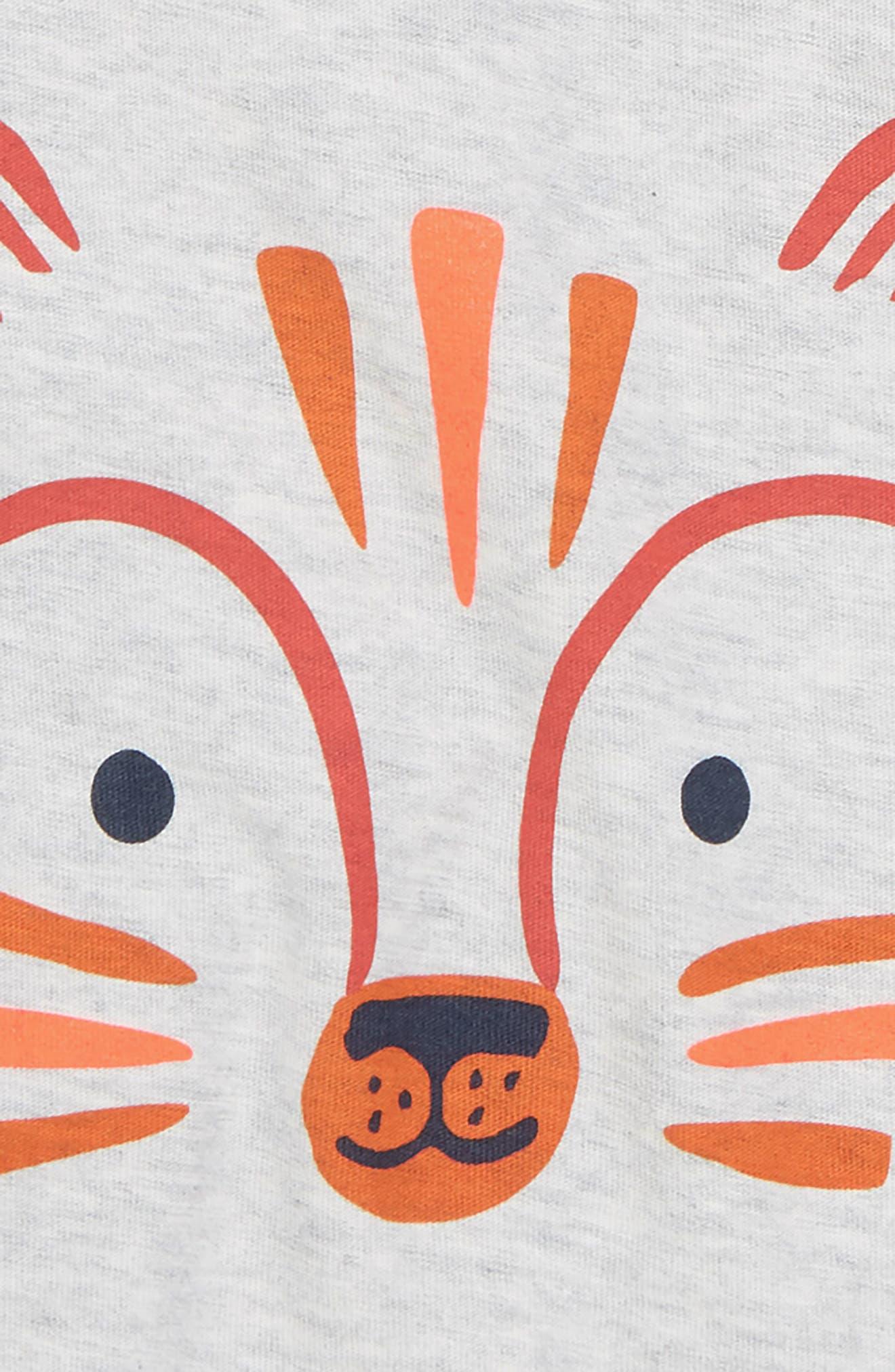 Fox T-Shirt,                             Alternate thumbnail 2, color,                             Light Grey Heather