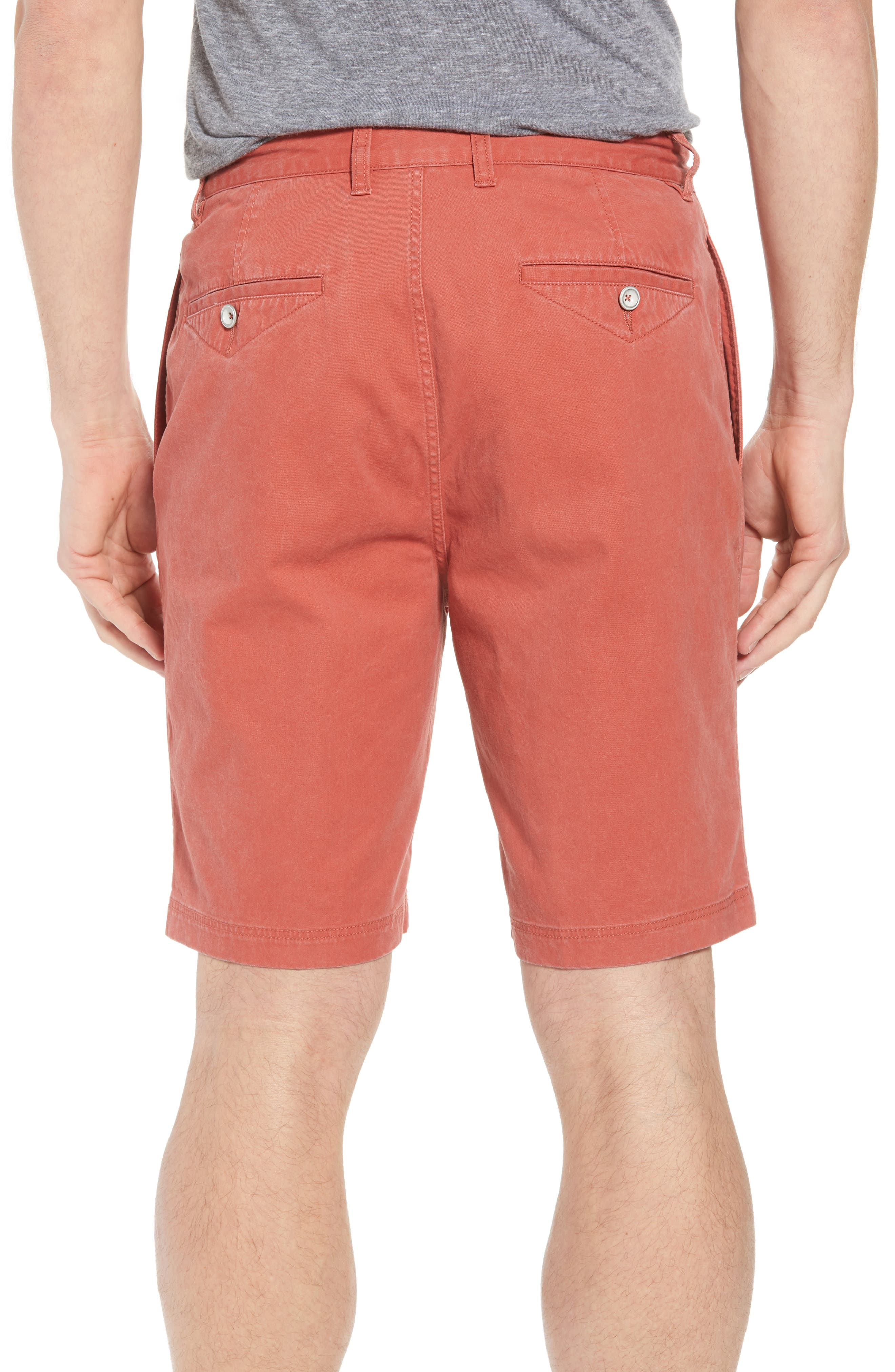 Glenburn Shorts,                             Alternate thumbnail 3, color,                             Red Ochre