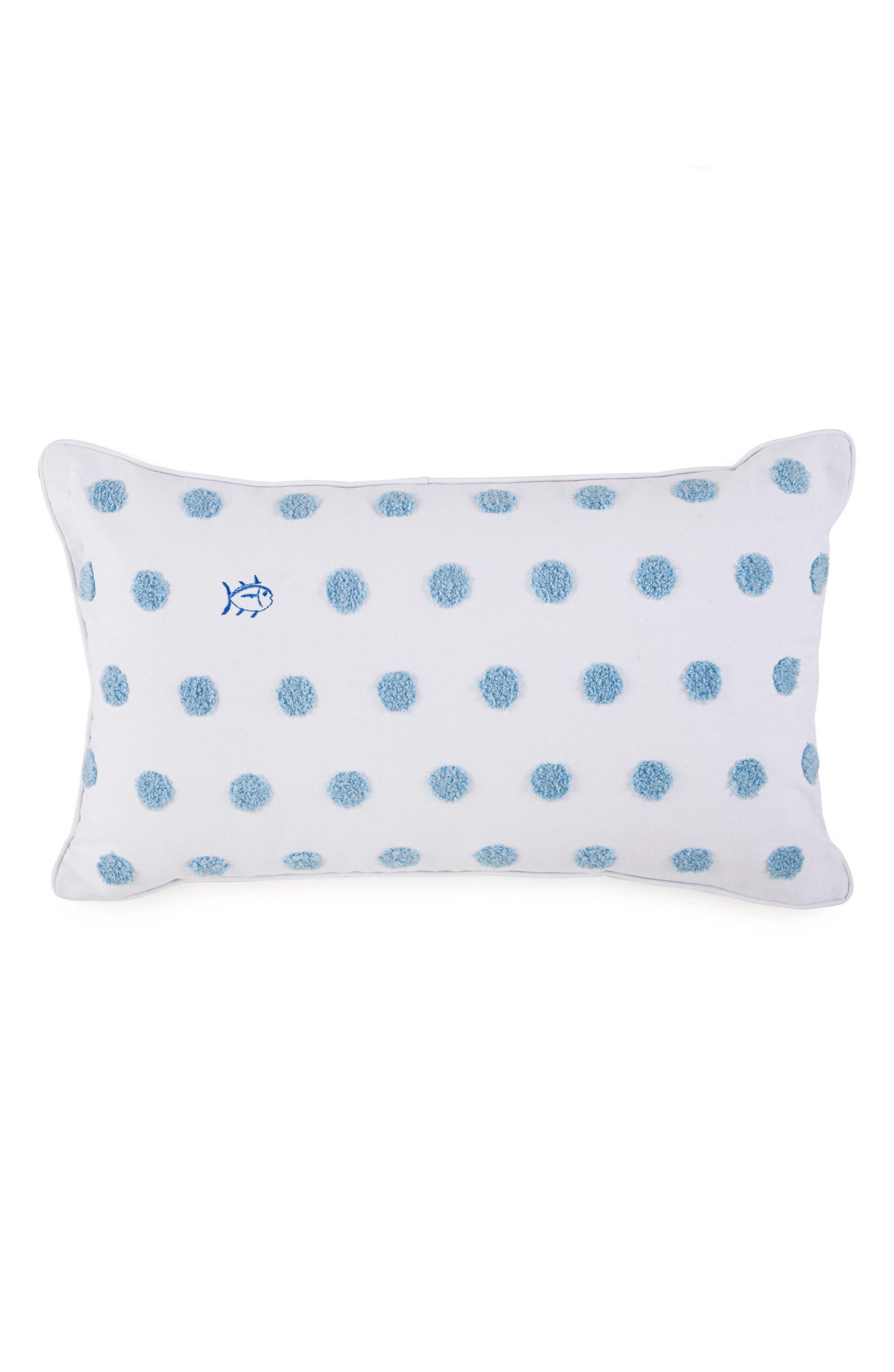 Summer Daze Bouclé Rectangular Accent Pillow,                         Main,                         color, White
