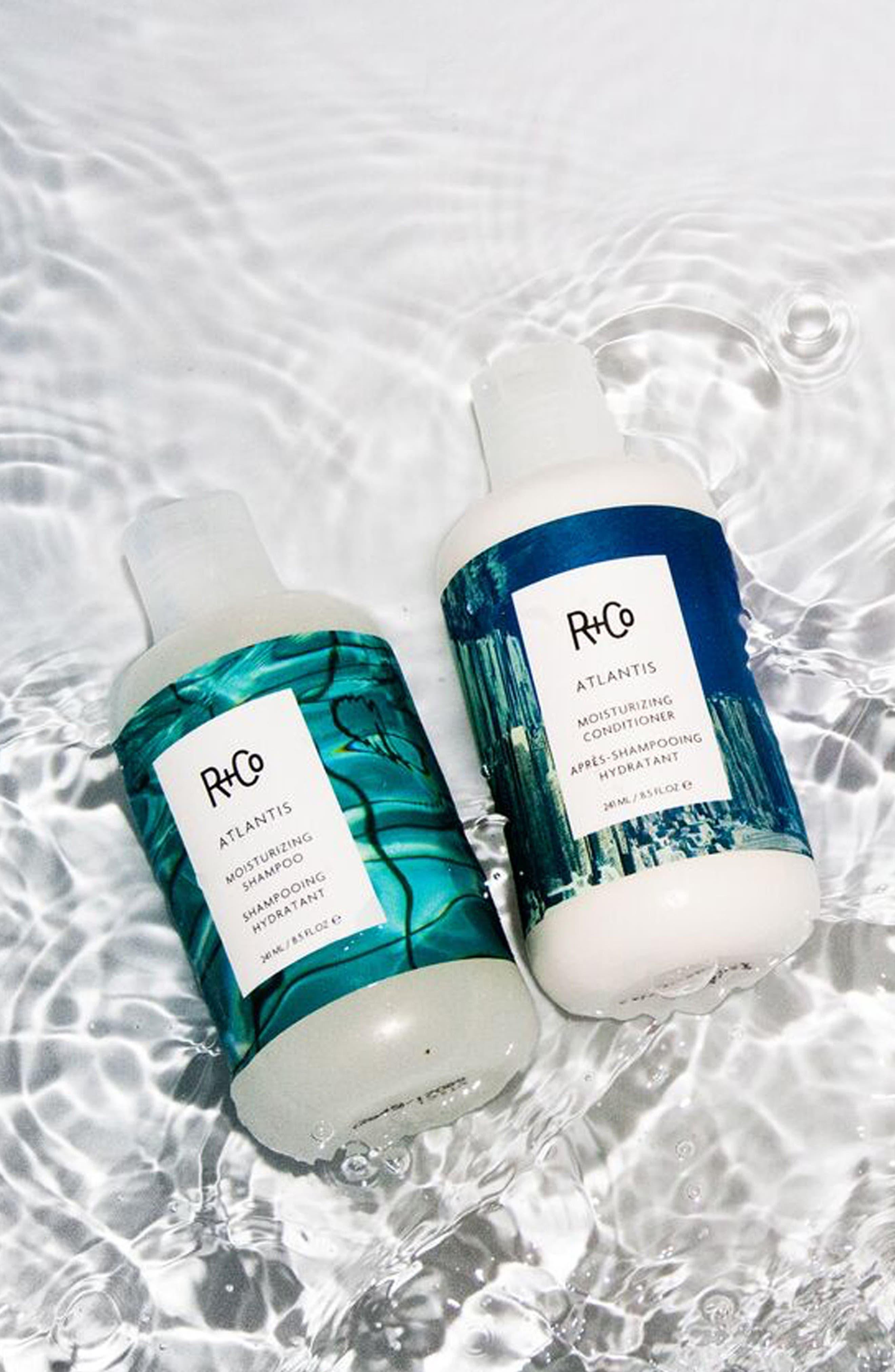 SPACE.NK.apothecary R+Co Atlantis Moisturizing Shampoo,                             Alternate thumbnail 4, color,                             No Color