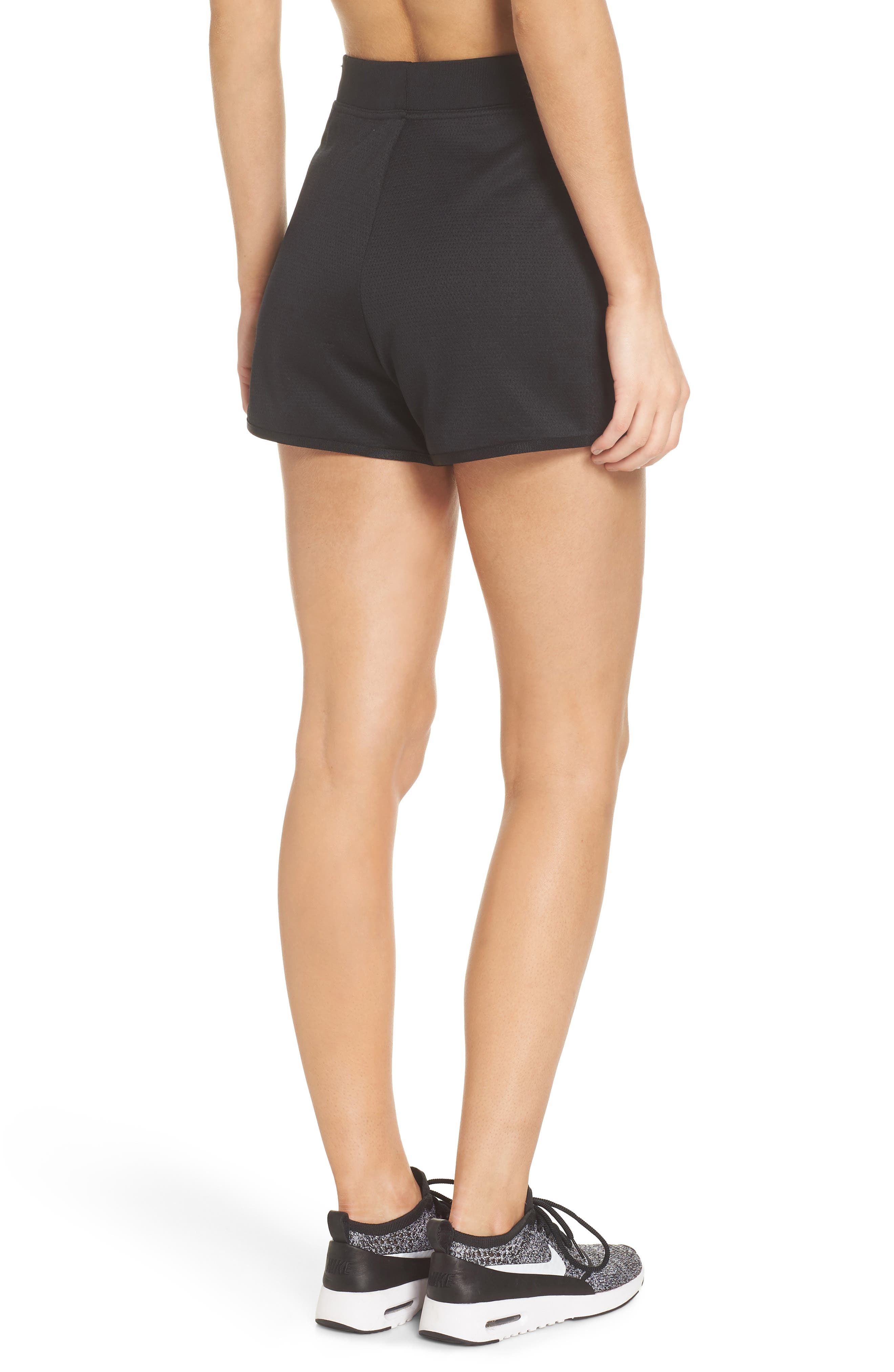 Sportswear Tech Fleece Short,                             Alternate thumbnail 2, color,                             Black/ Black