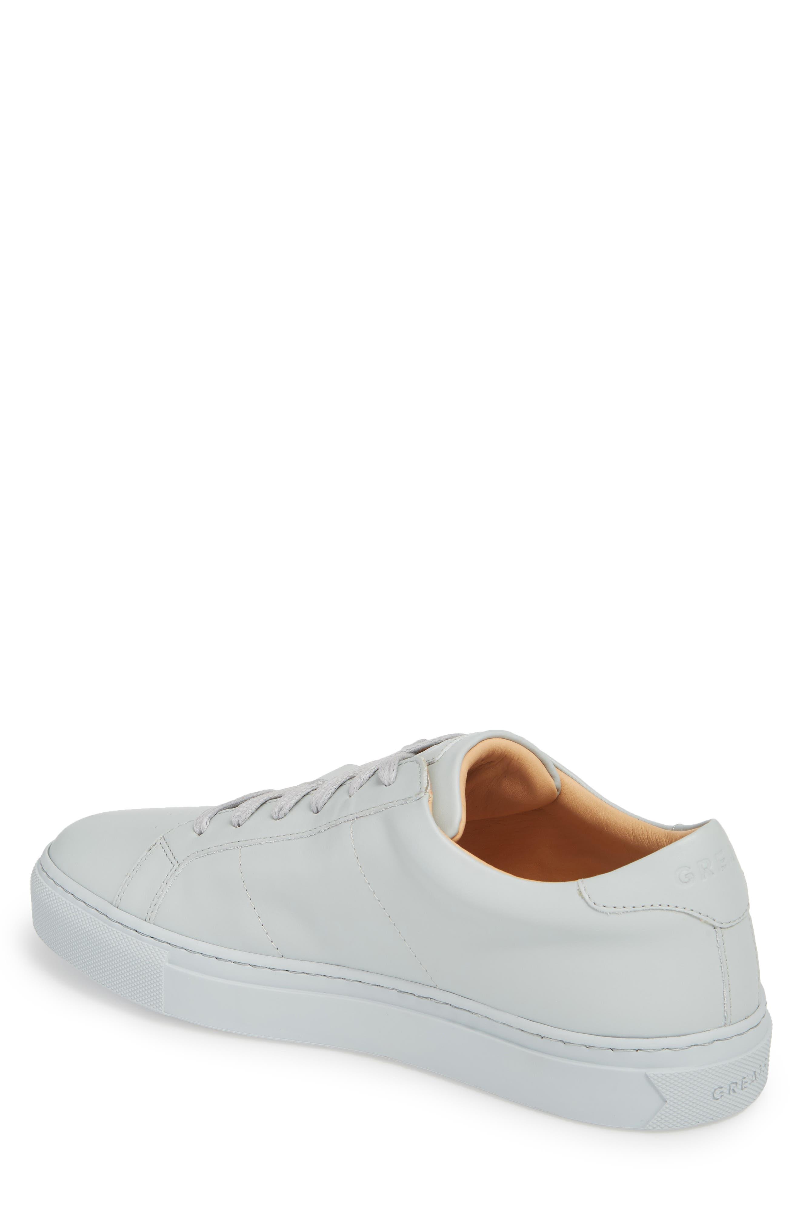 Royale Sneaker,                             Alternate thumbnail 2, color,                             Grey Tonal Leather