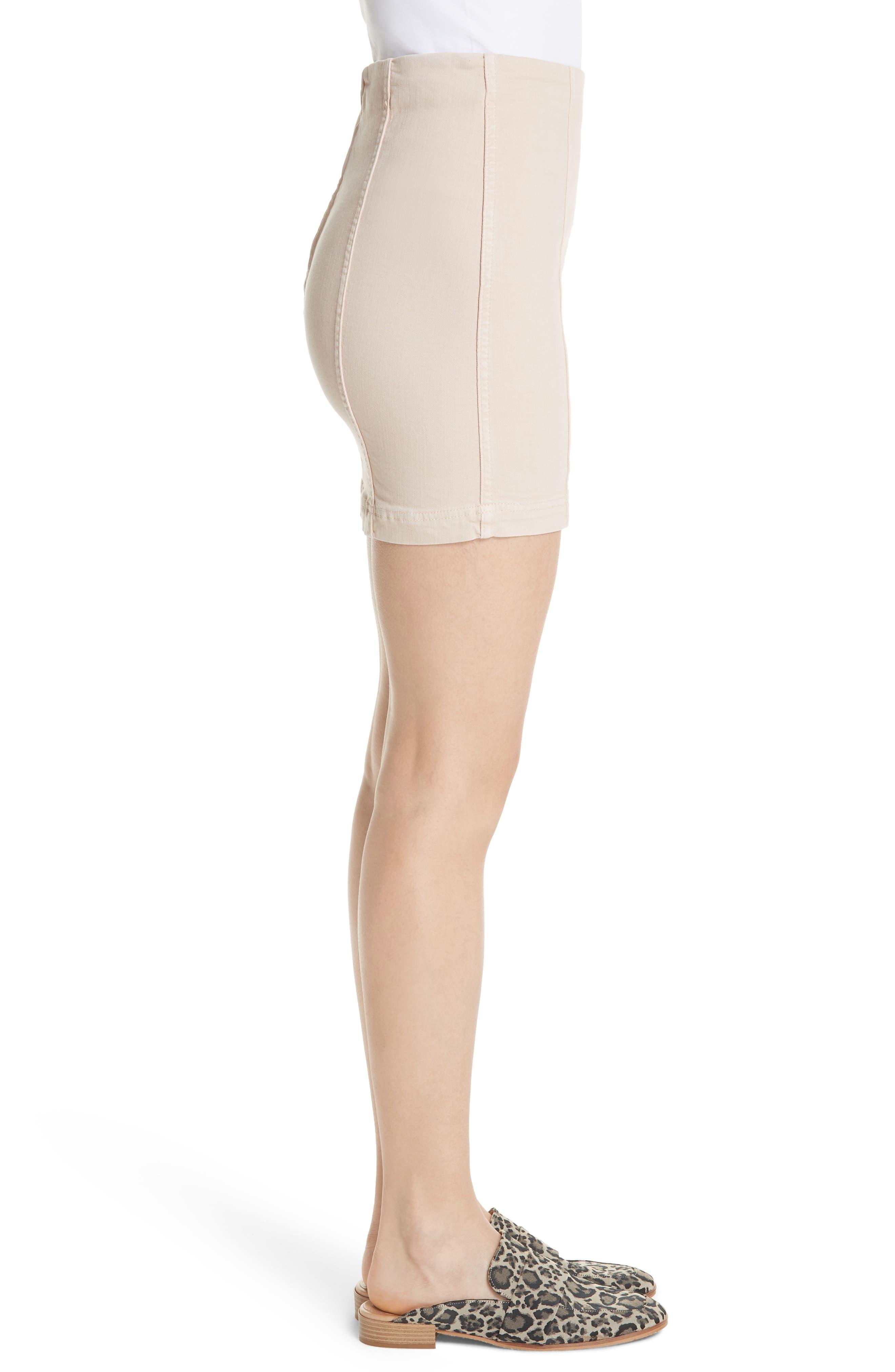 Modern Femme Miniskirt,                             Alternate thumbnail 3, color,                             Stone