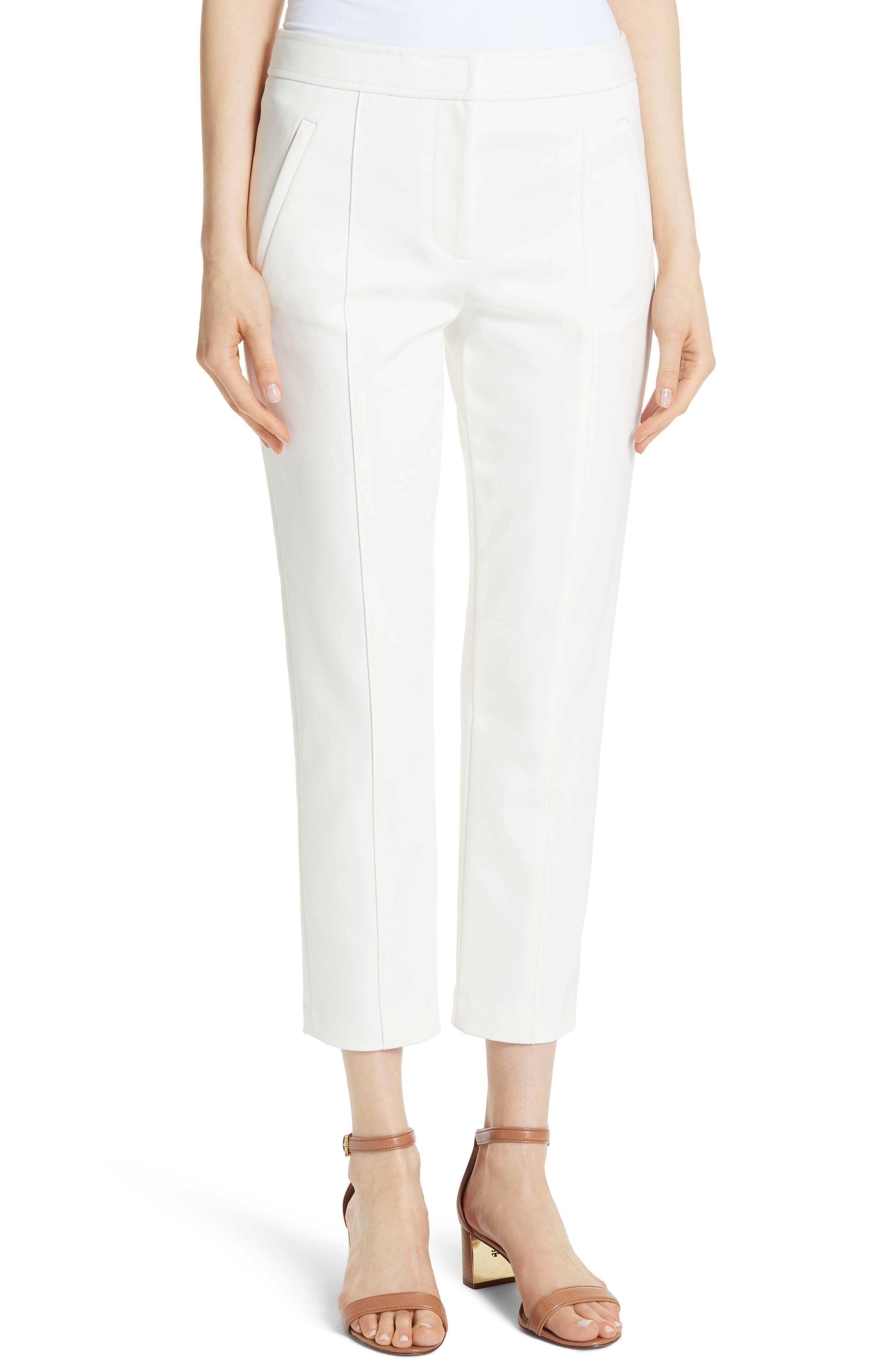 Vanner Slim Leg Ankle Pants,                         Main,                         color, New Ivory