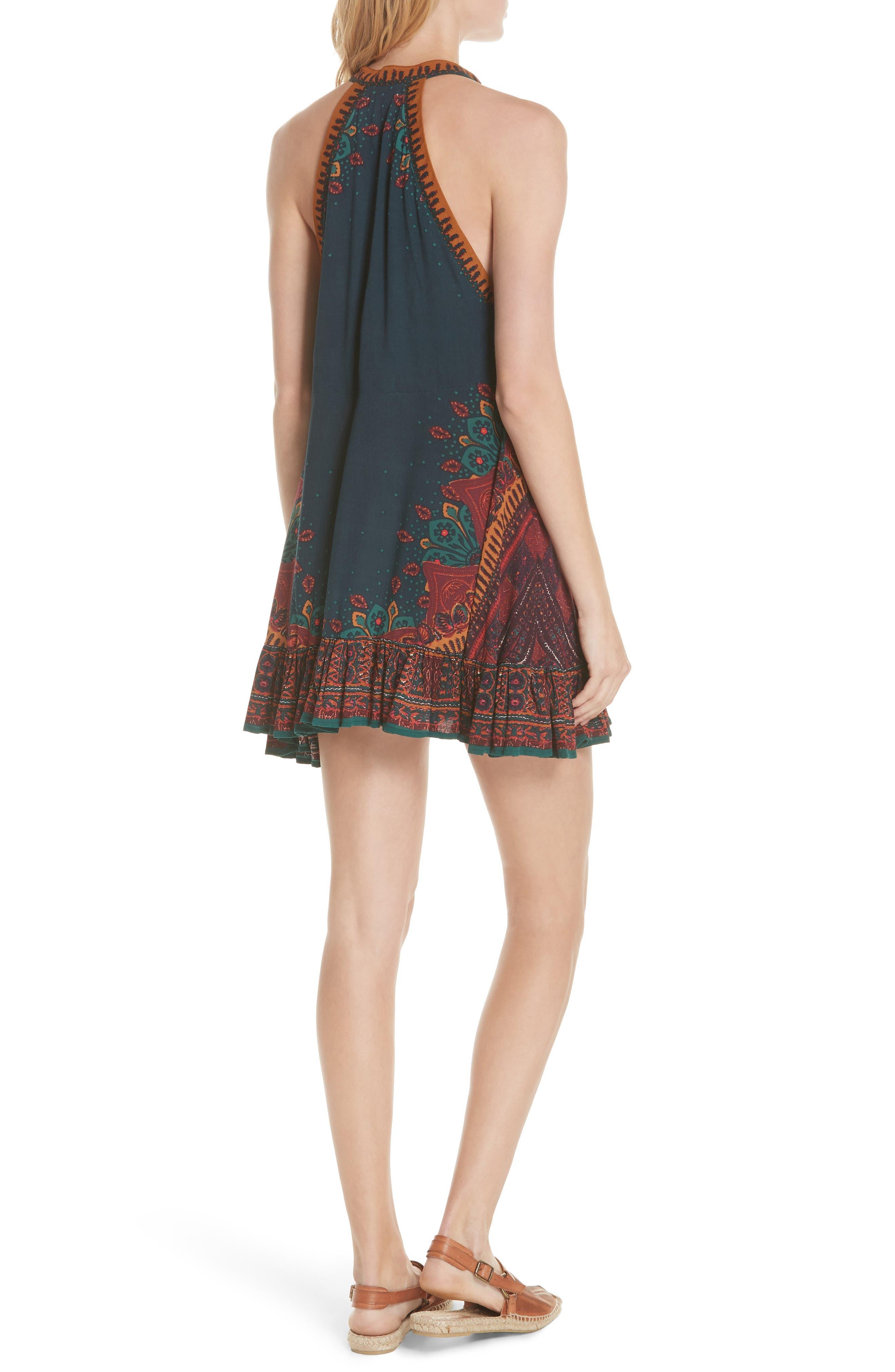 Steal the Sun Reversible Dress,                             Alternate thumbnail 2, color,                             Blue
