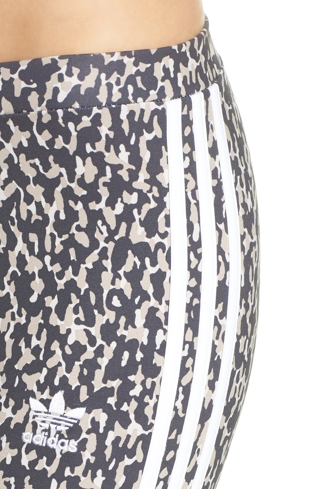 Leopard Camo Leggings,                             Alternate thumbnail 4, color,                             Leoflage Aop