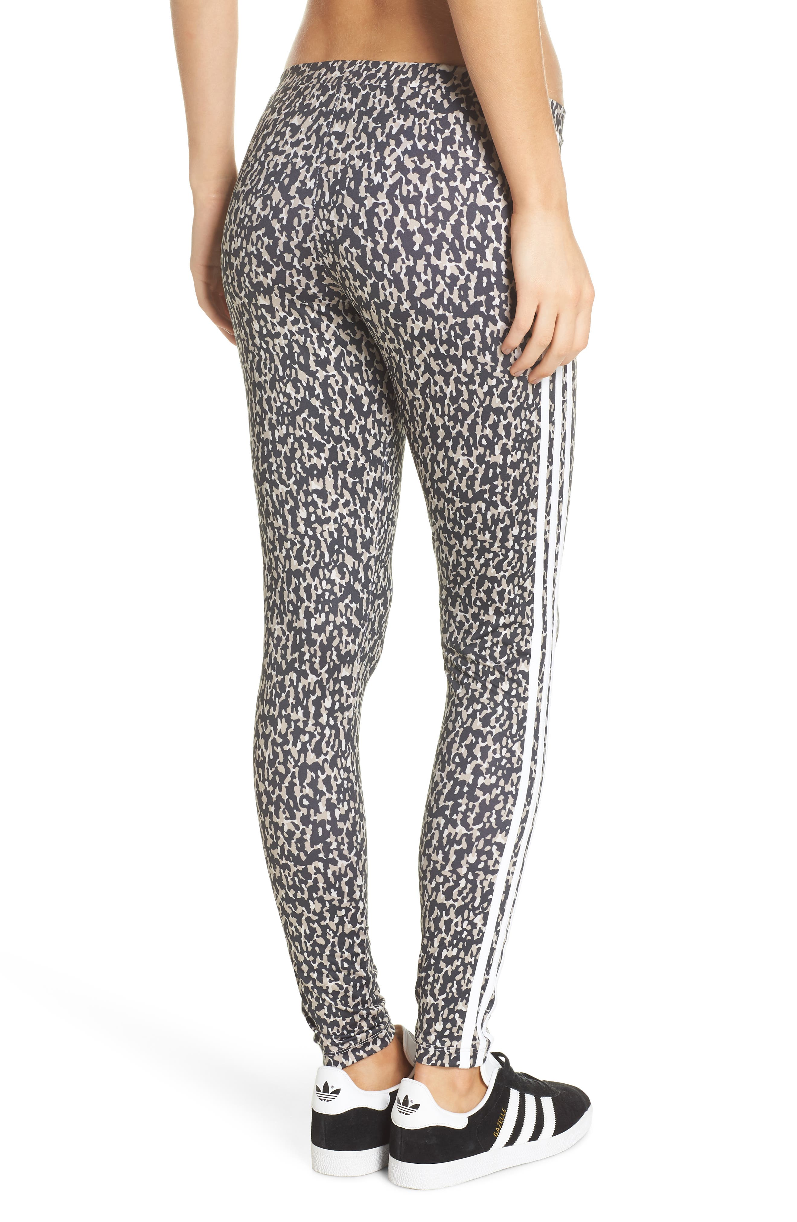 Leopard Camo Leggings,                             Alternate thumbnail 2, color,                             Leoflage Aop