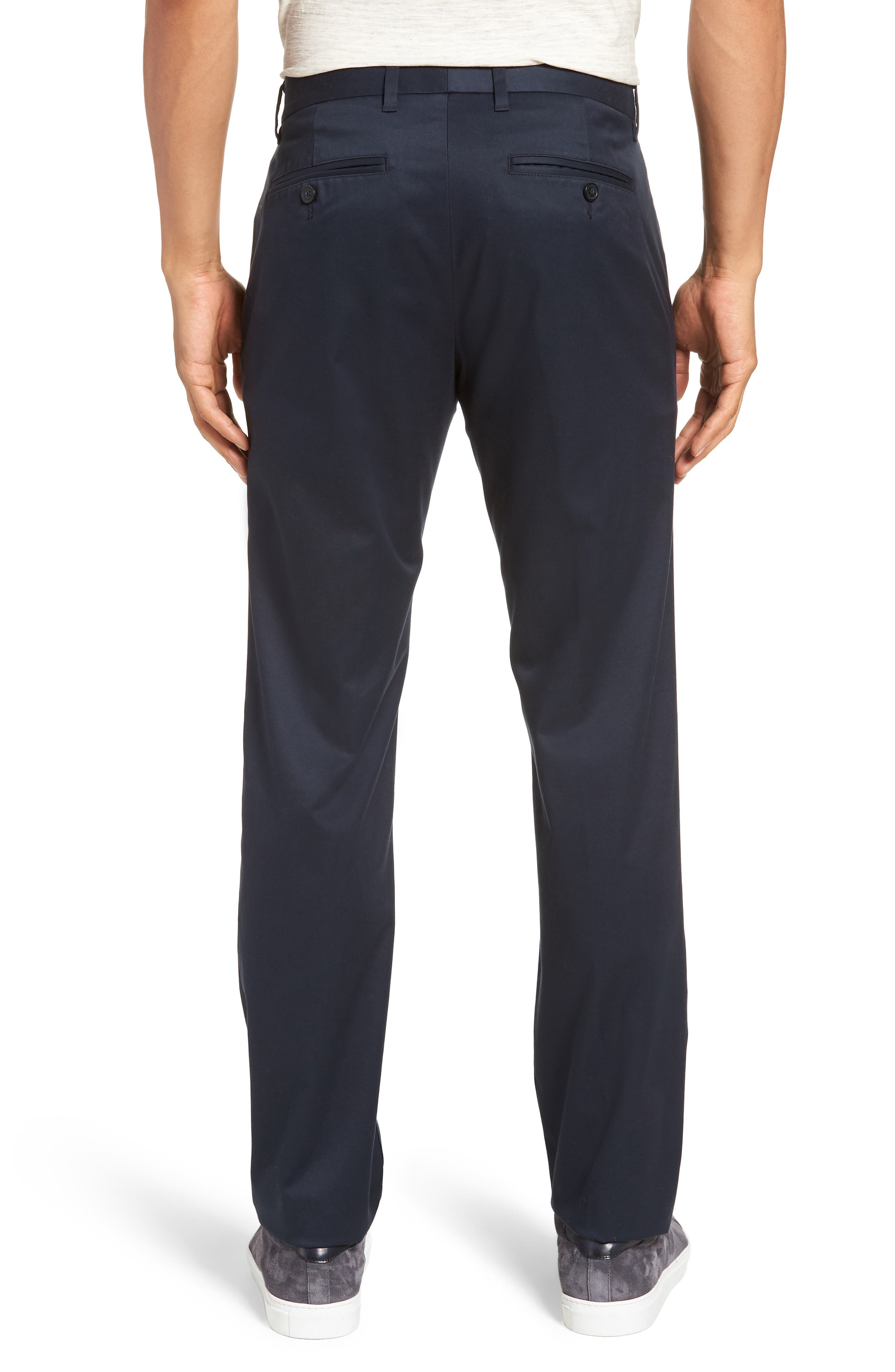 Weekday Warrior Slim Fit Stretch Pants,                             Alternate thumbnail 2, color,                             Monday Blues
