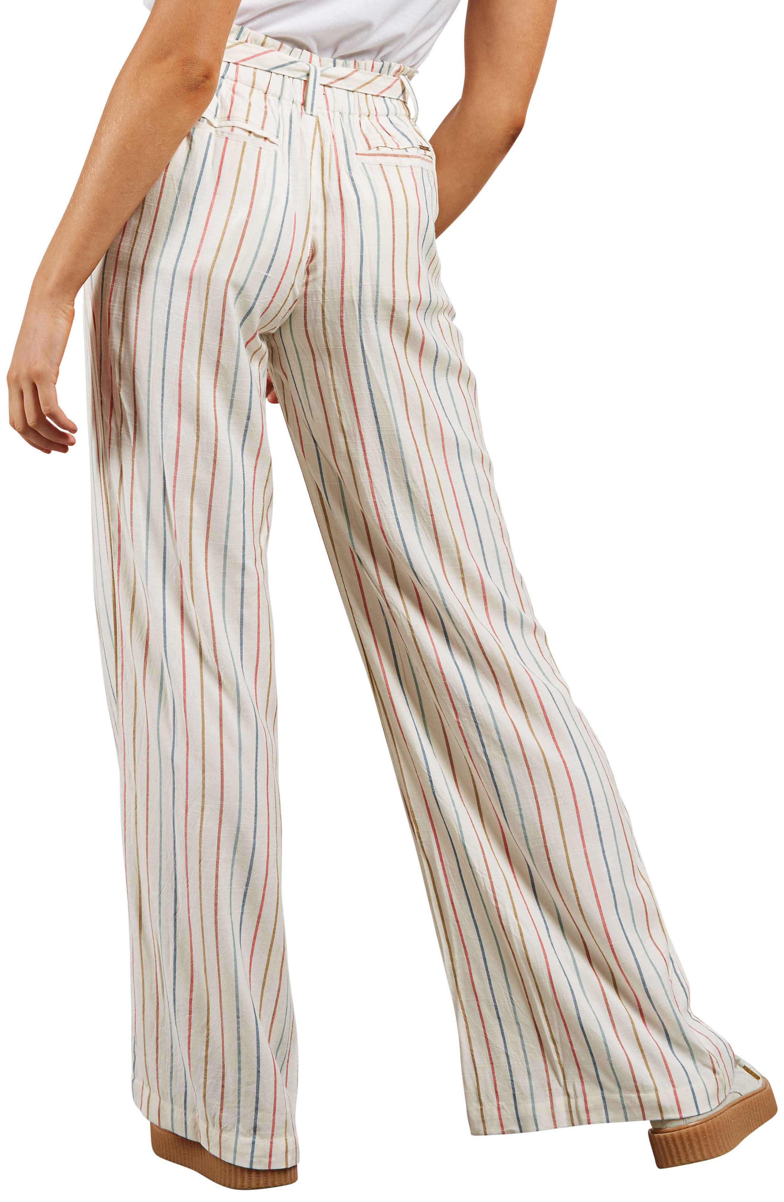 Need Now Stripe Trousers,                             Alternate thumbnail 2, color,                             Multi