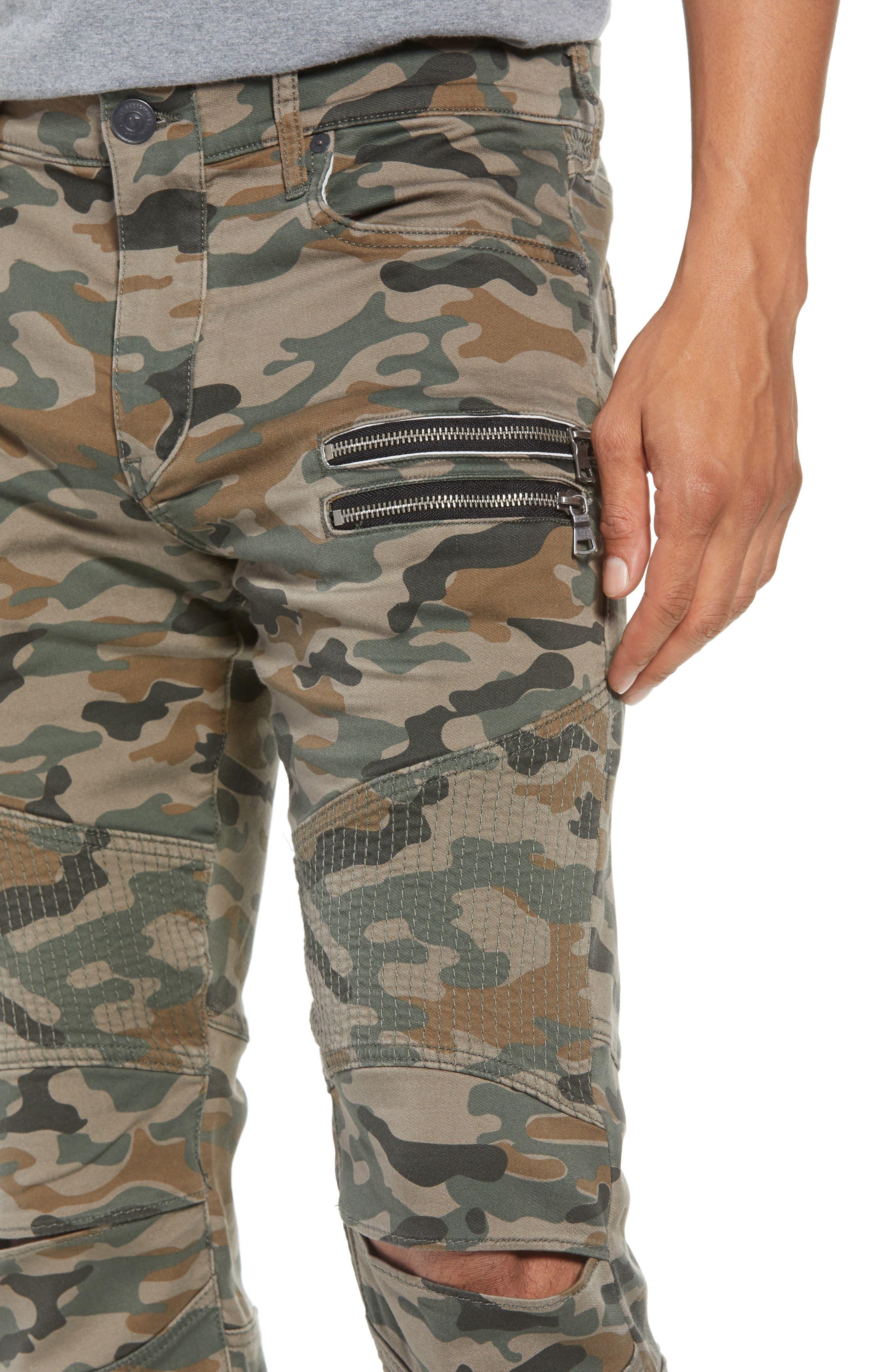Drift Straight Leg Camo Pants,                             Alternate thumbnail 4, color,                             Camo Print