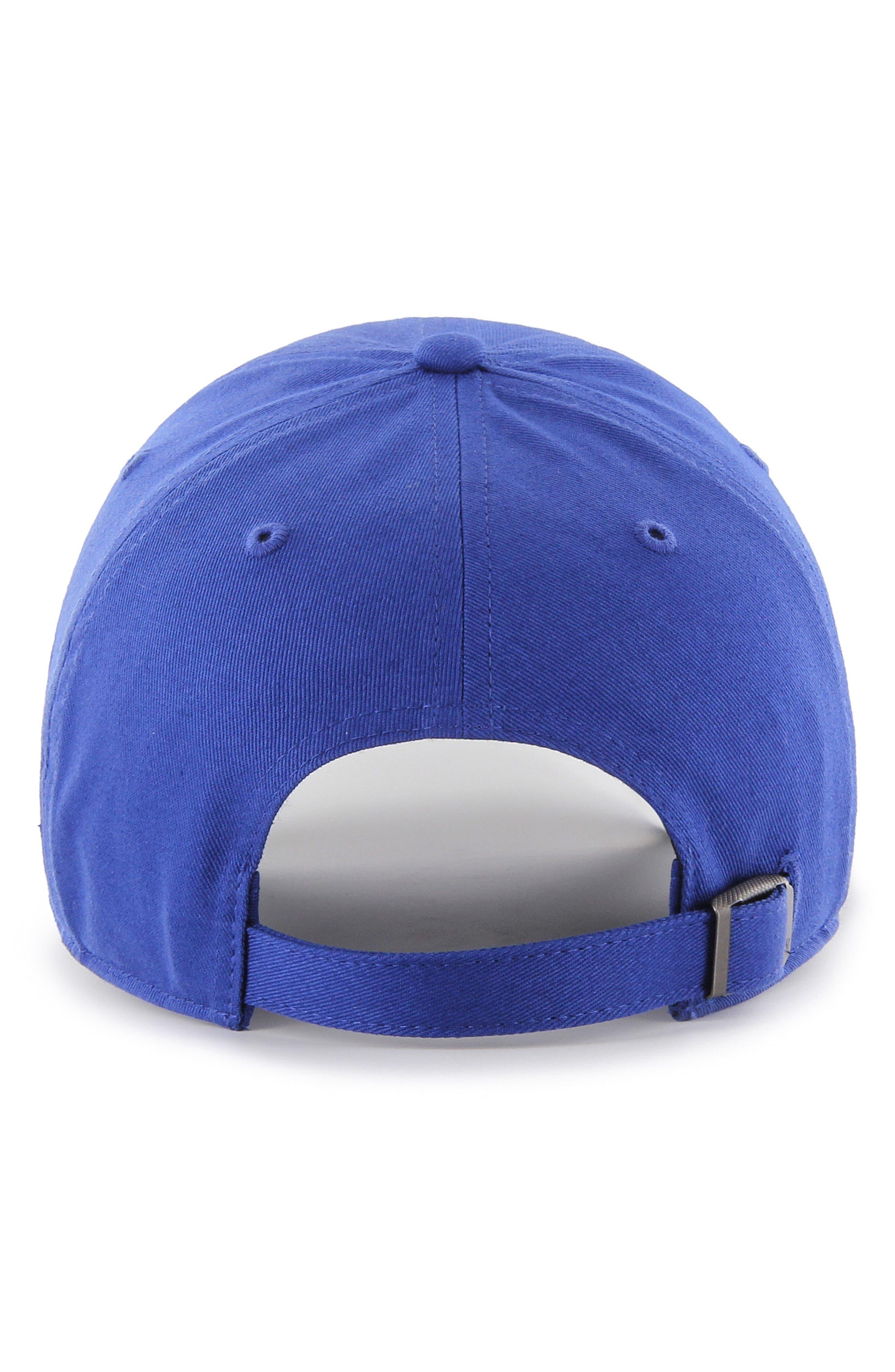Falton MLB Logo Ball Cap,                             Alternate thumbnail 2, color,                             Dodgers