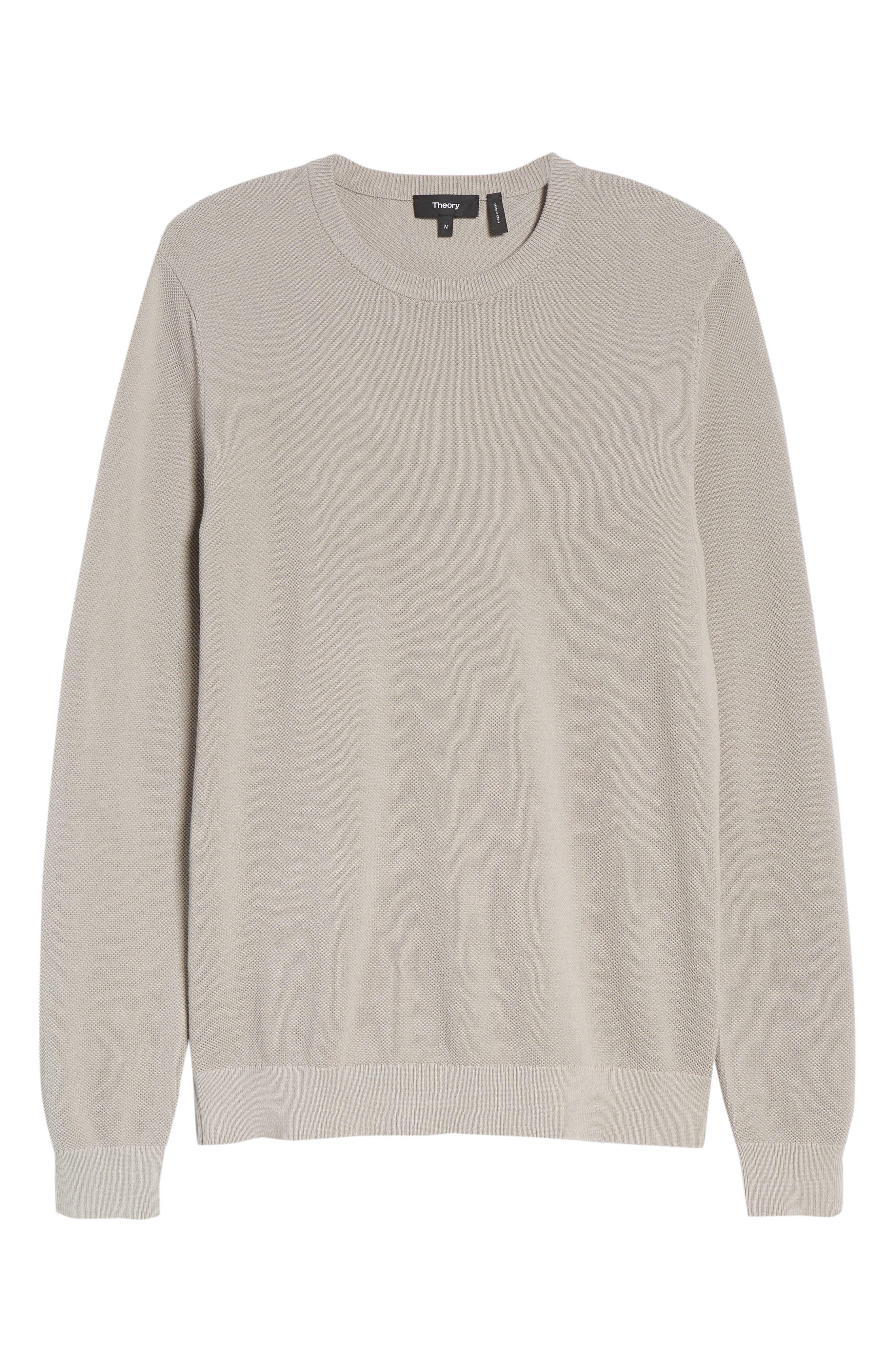 Alternate Image 6  - Theory Riland Cotton Long Sleeve T-Shirt