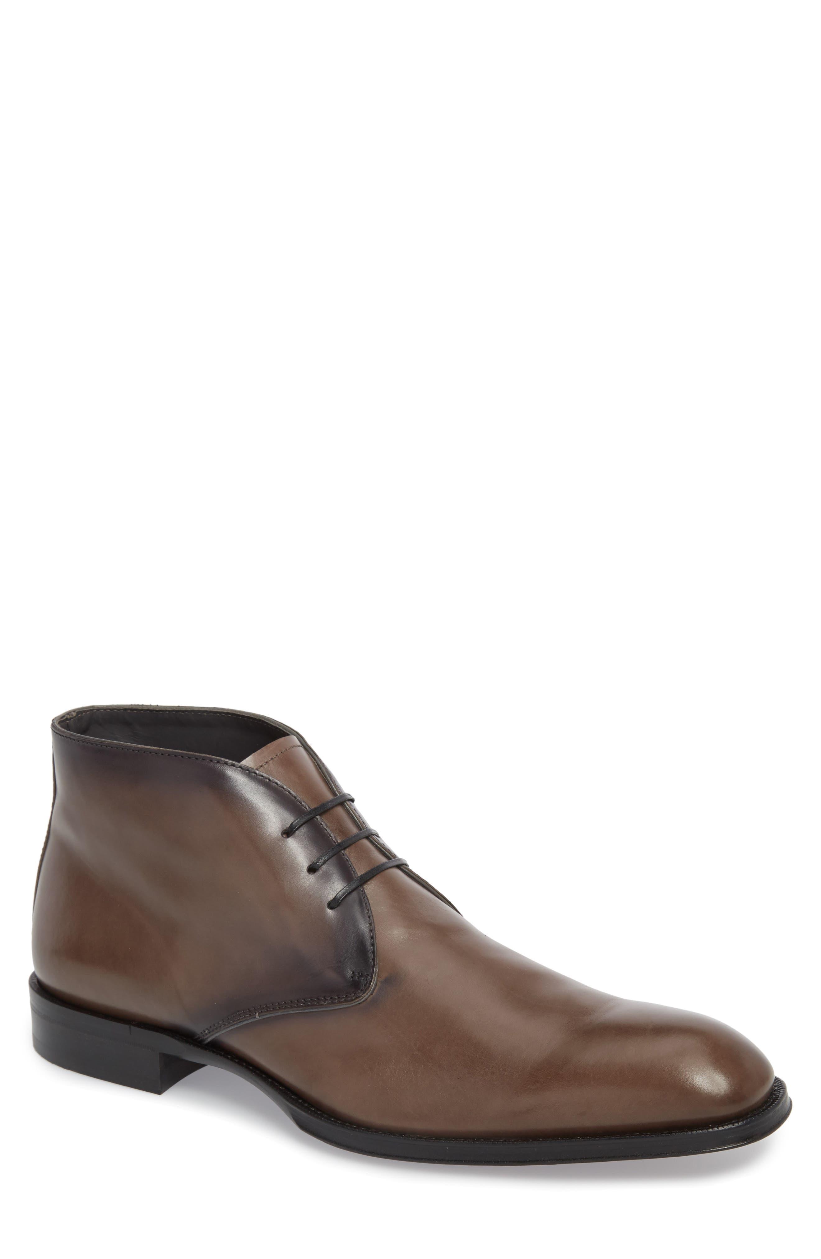 To Boot New York Derby Plain Toe Chukka Boot (Men)