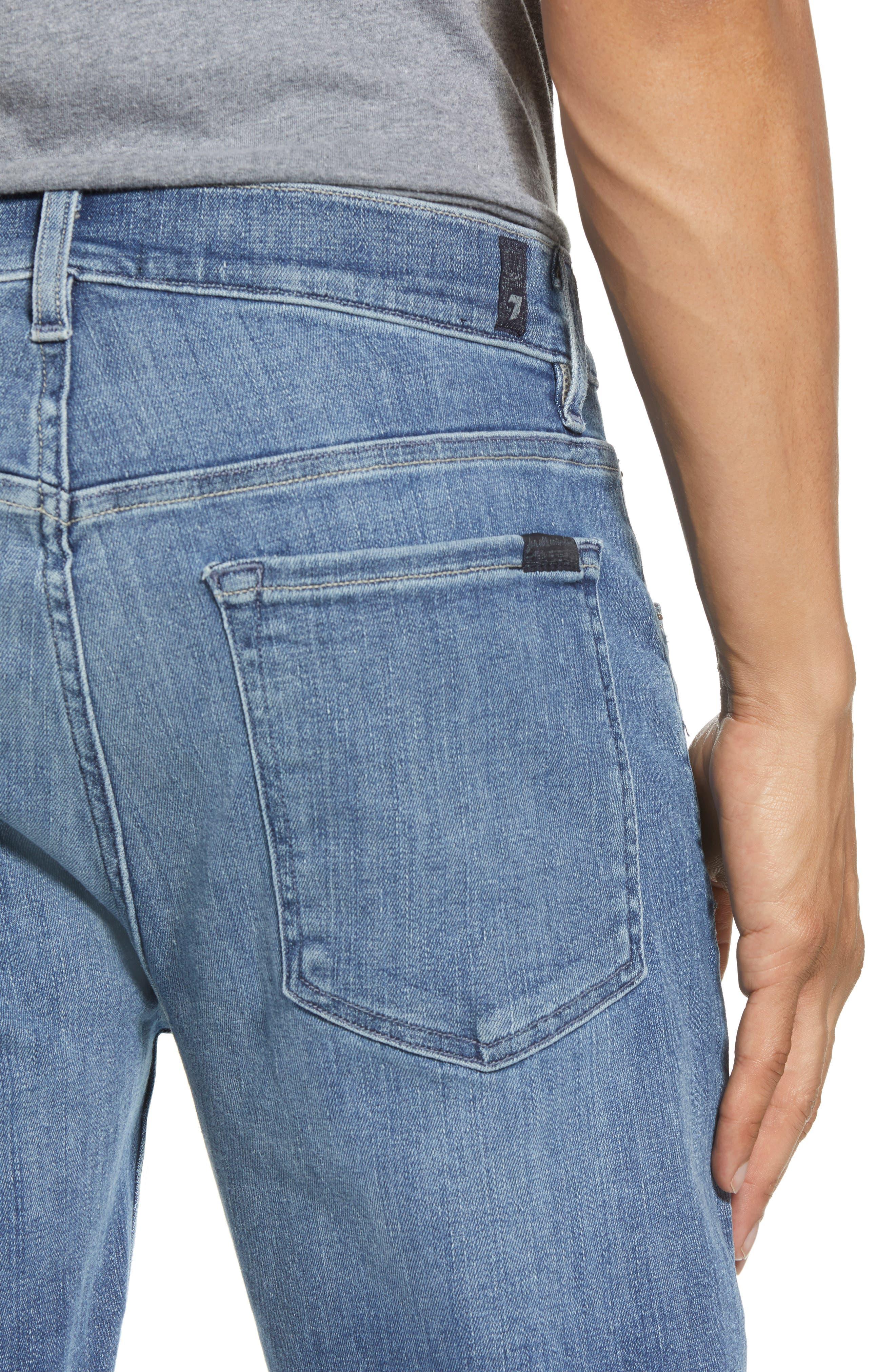Adrien Slim Fit Jeans,                             Alternate thumbnail 4, color,                             Vortex