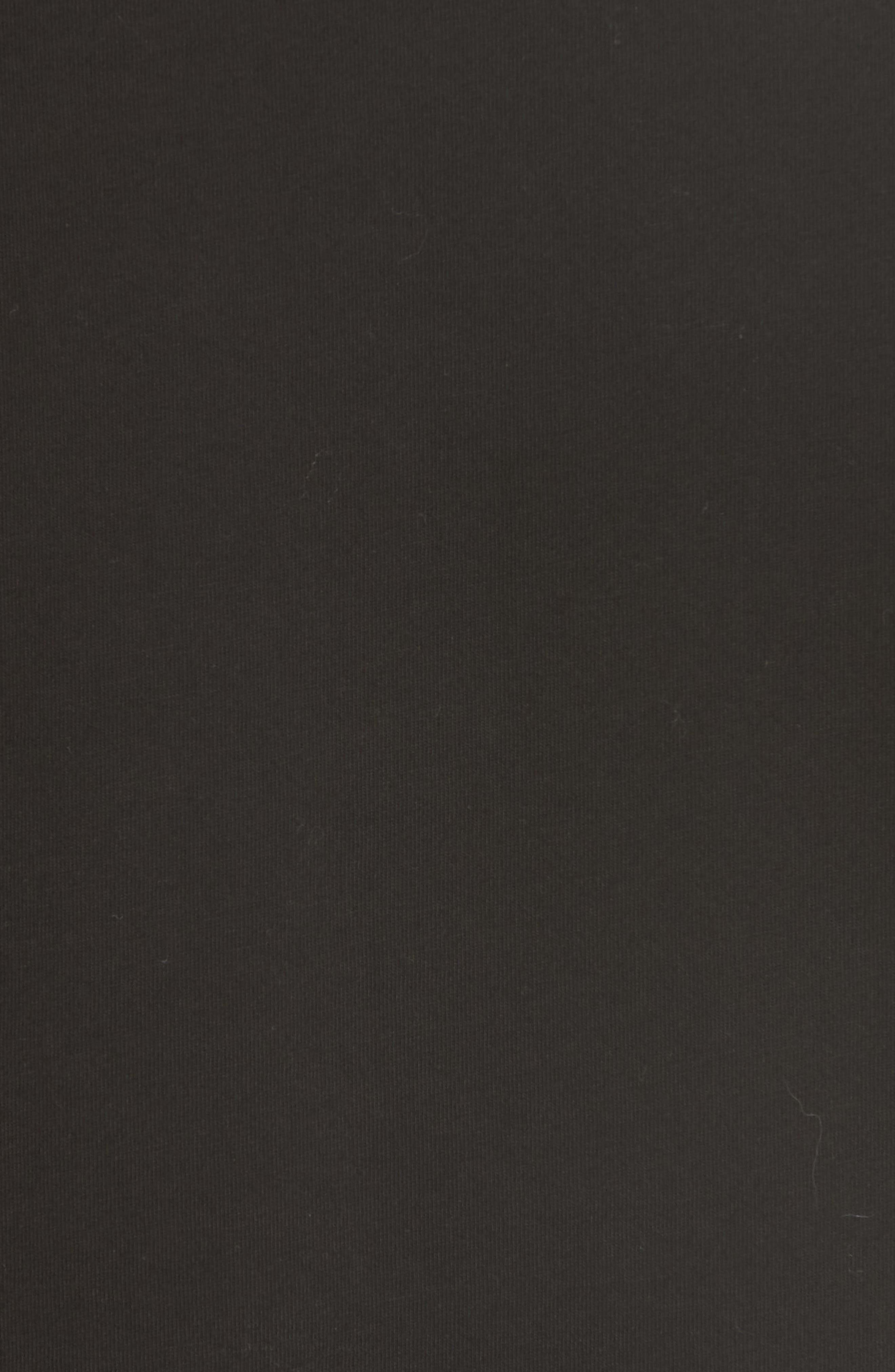 Open Sleeve Top,                             Alternate thumbnail 4, color,                             Black
