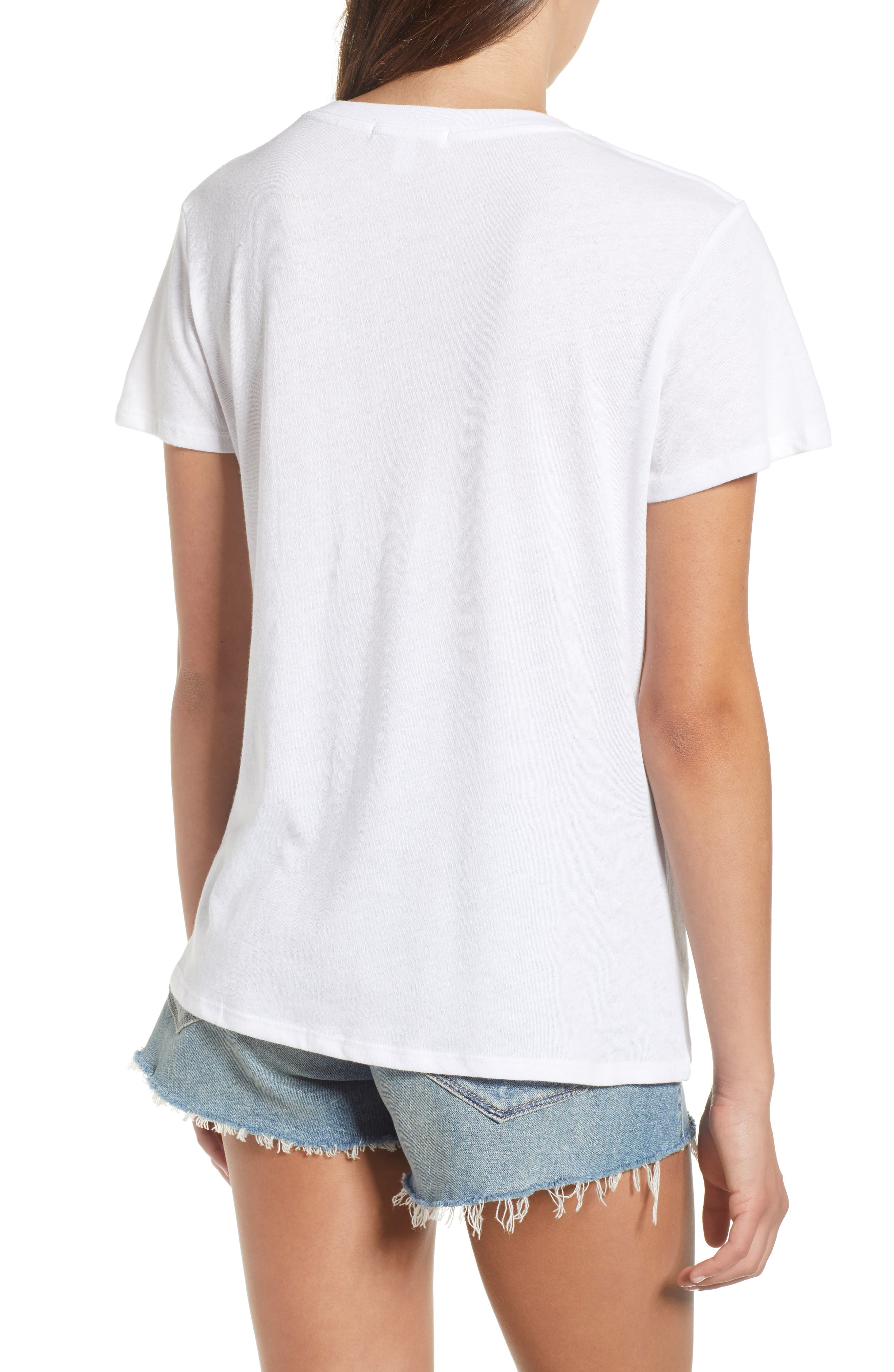 Love Wins Slouched Tee,                             Alternate thumbnail 2, color,                             White