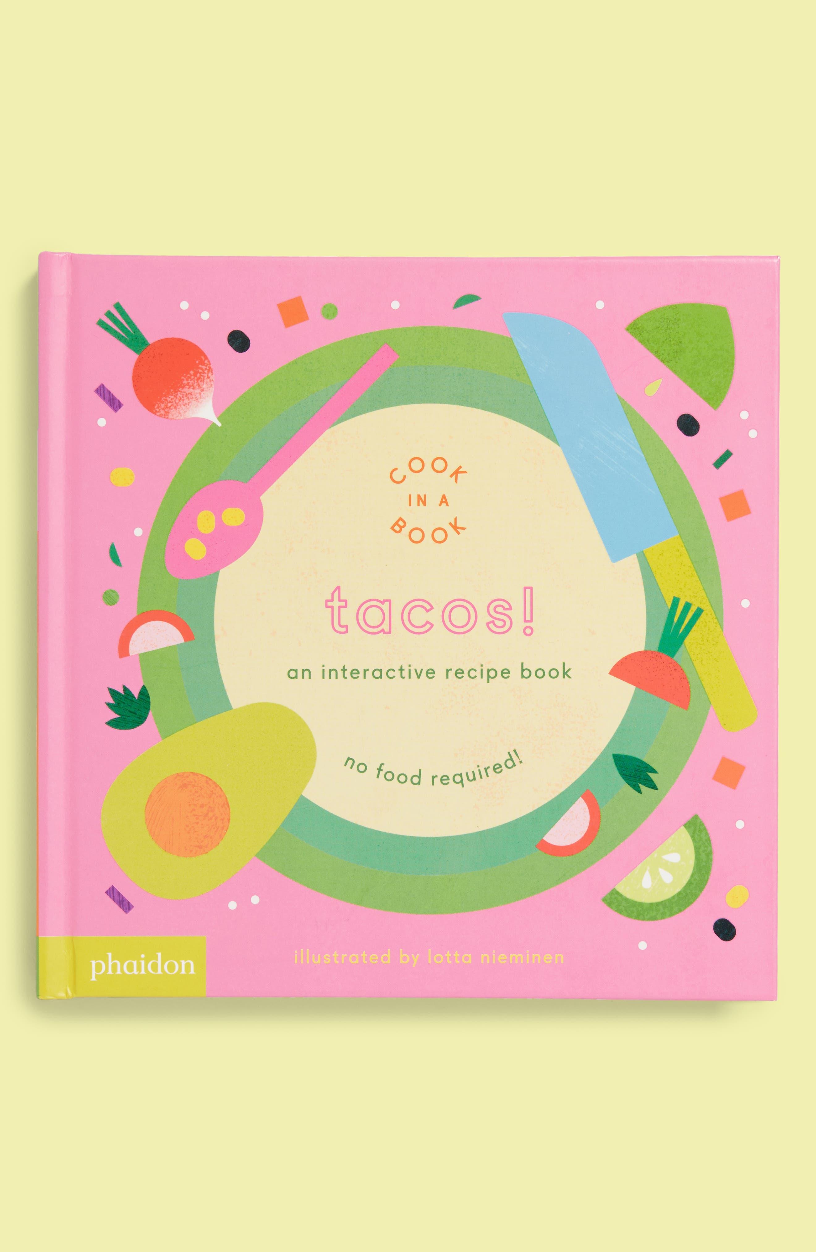 Cook In A Book - Tacos! Interactive Recipe Book