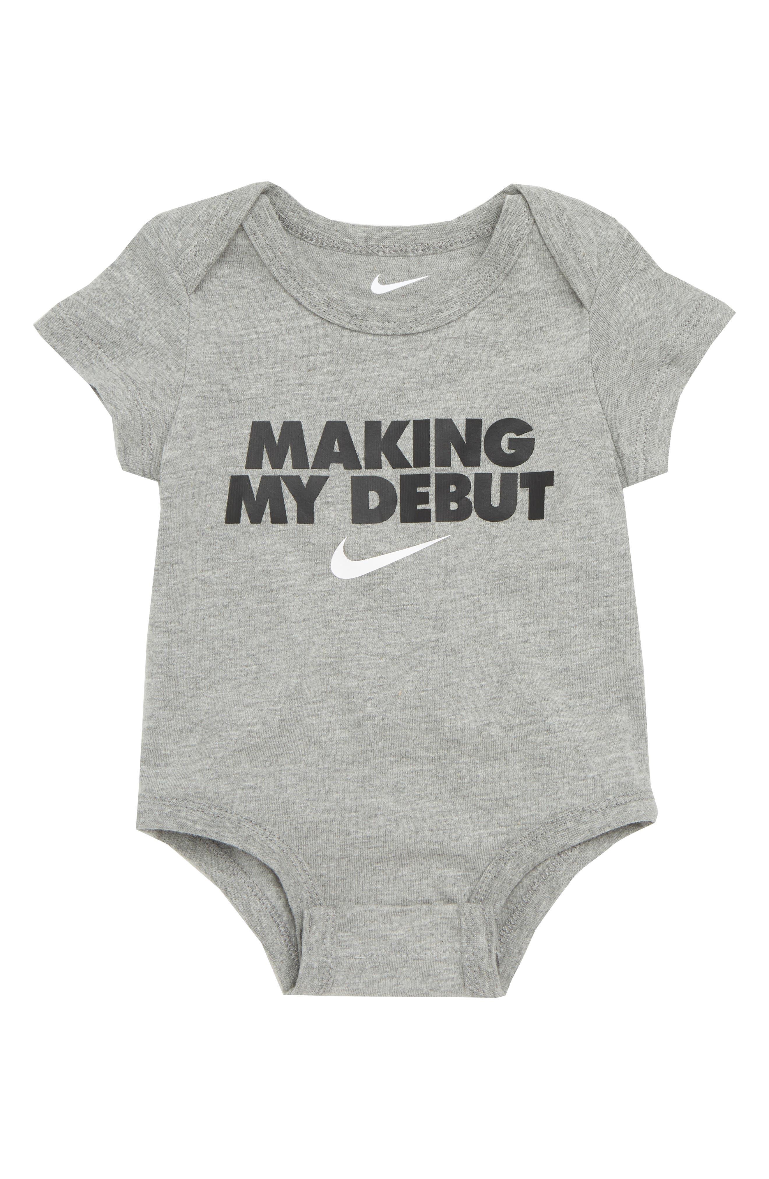 Nike Making My Debut Bodysuit (Baby)