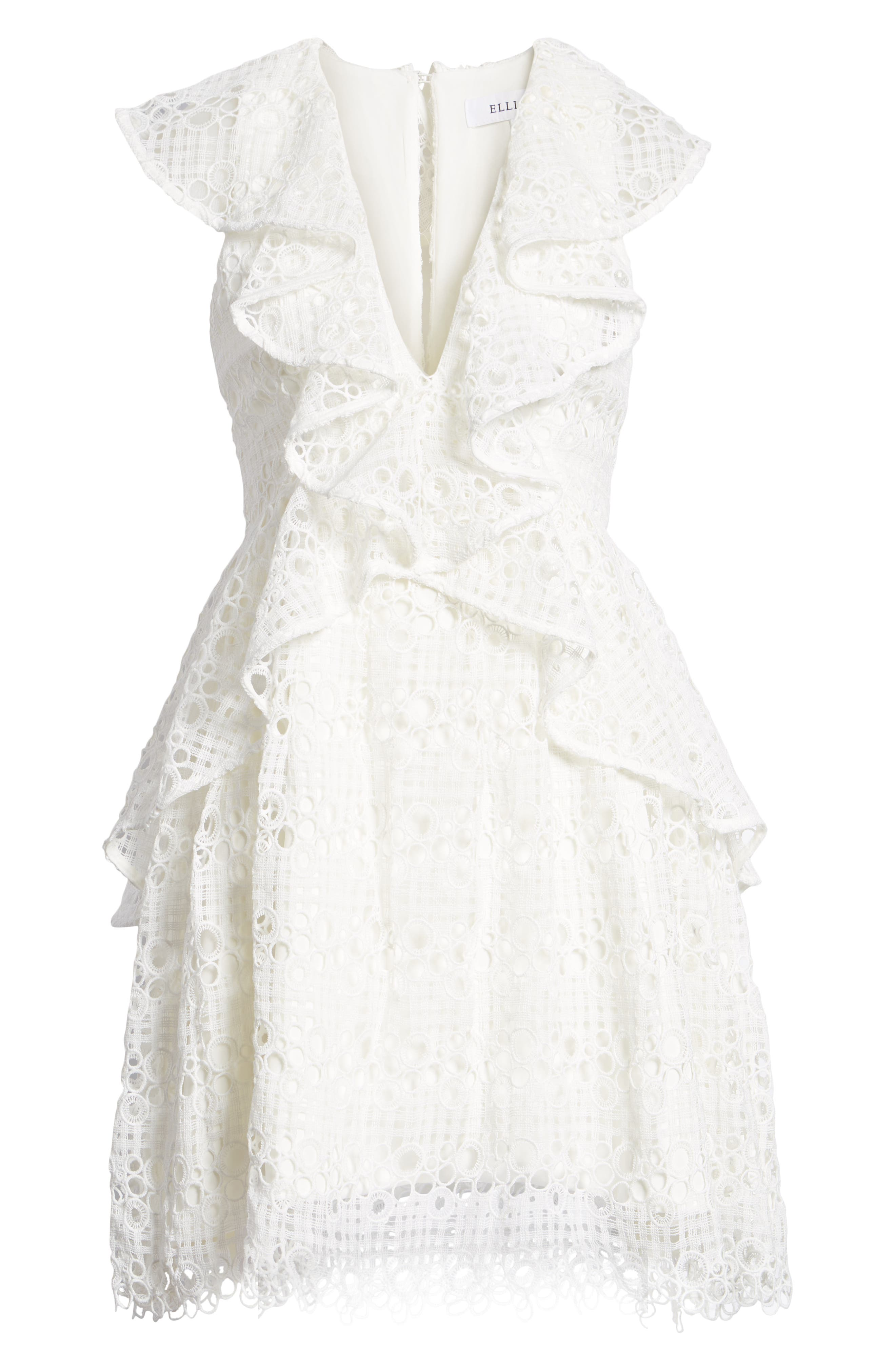 Interlude Dress,                             Alternate thumbnail 6, color,                             White