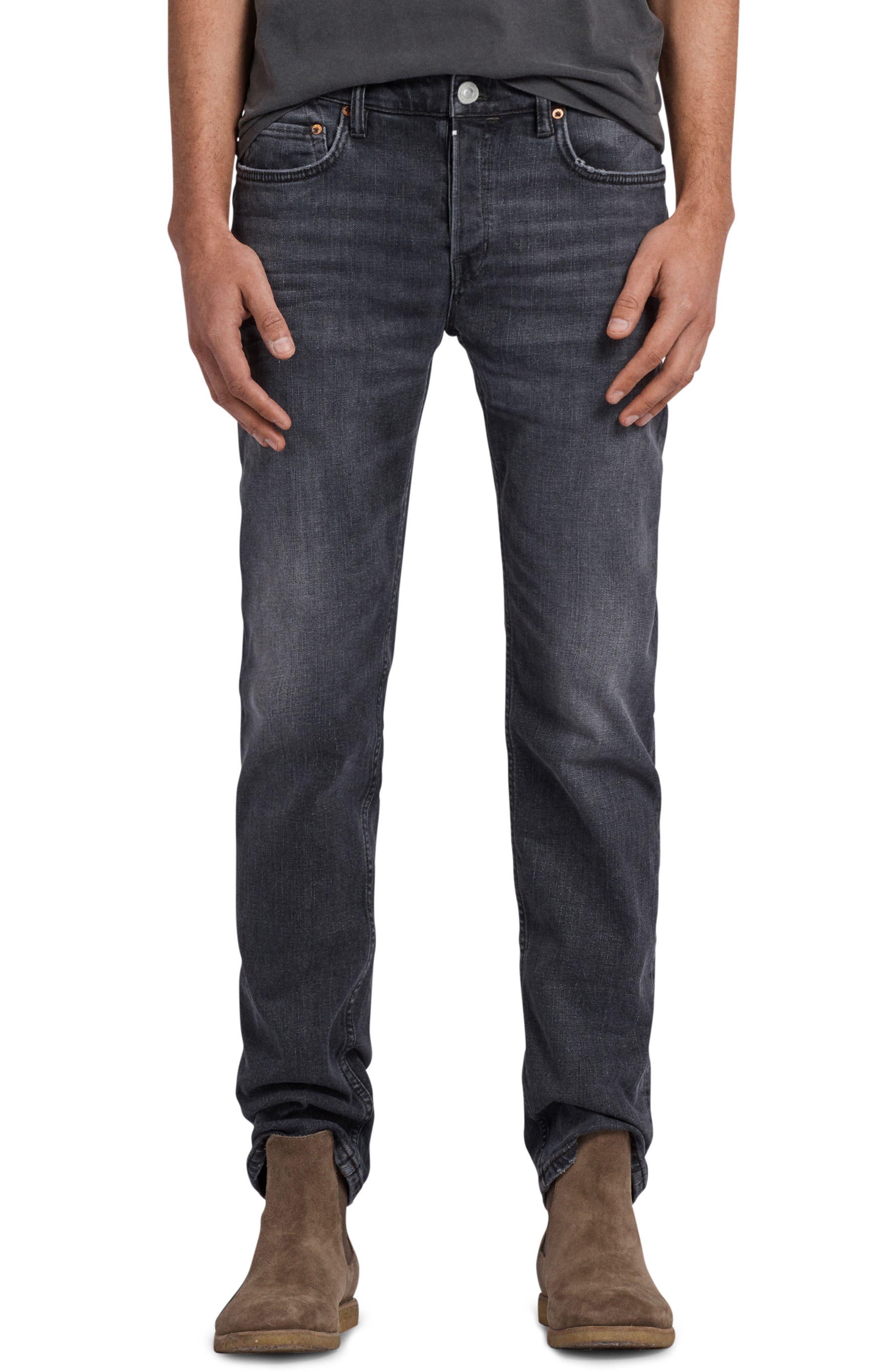 Graine Reed Regular Fit Jeans,                         Main,                         color, Grey