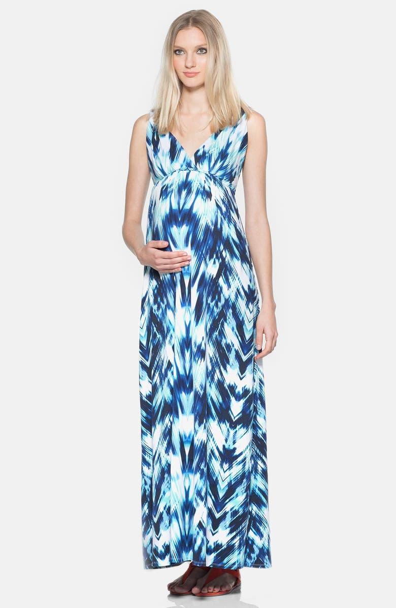 Chloe Maternity Maxi Dress