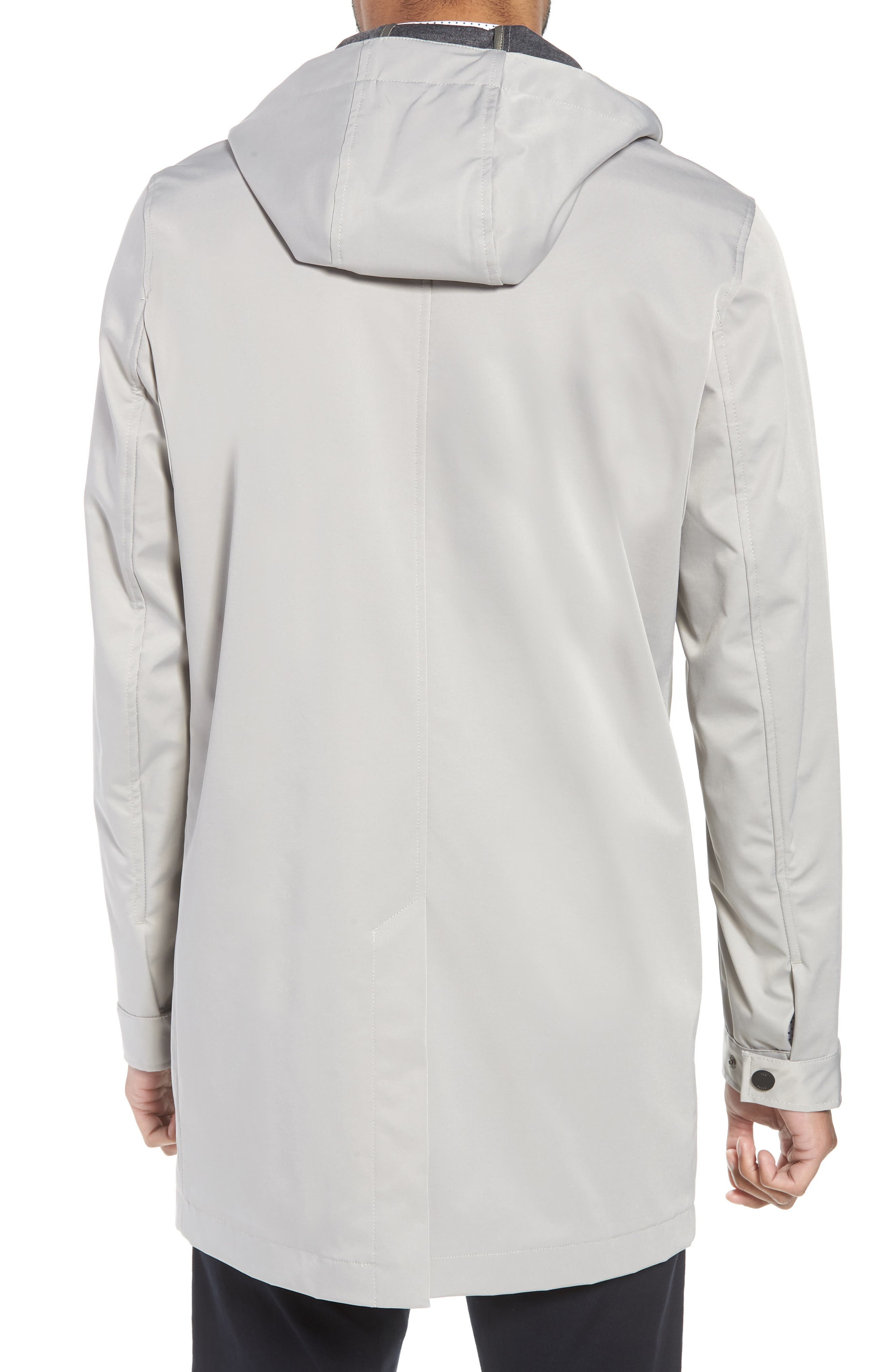 Verner Hooded Mac Jacket,                             Alternate thumbnail 2, color,                             Taupe