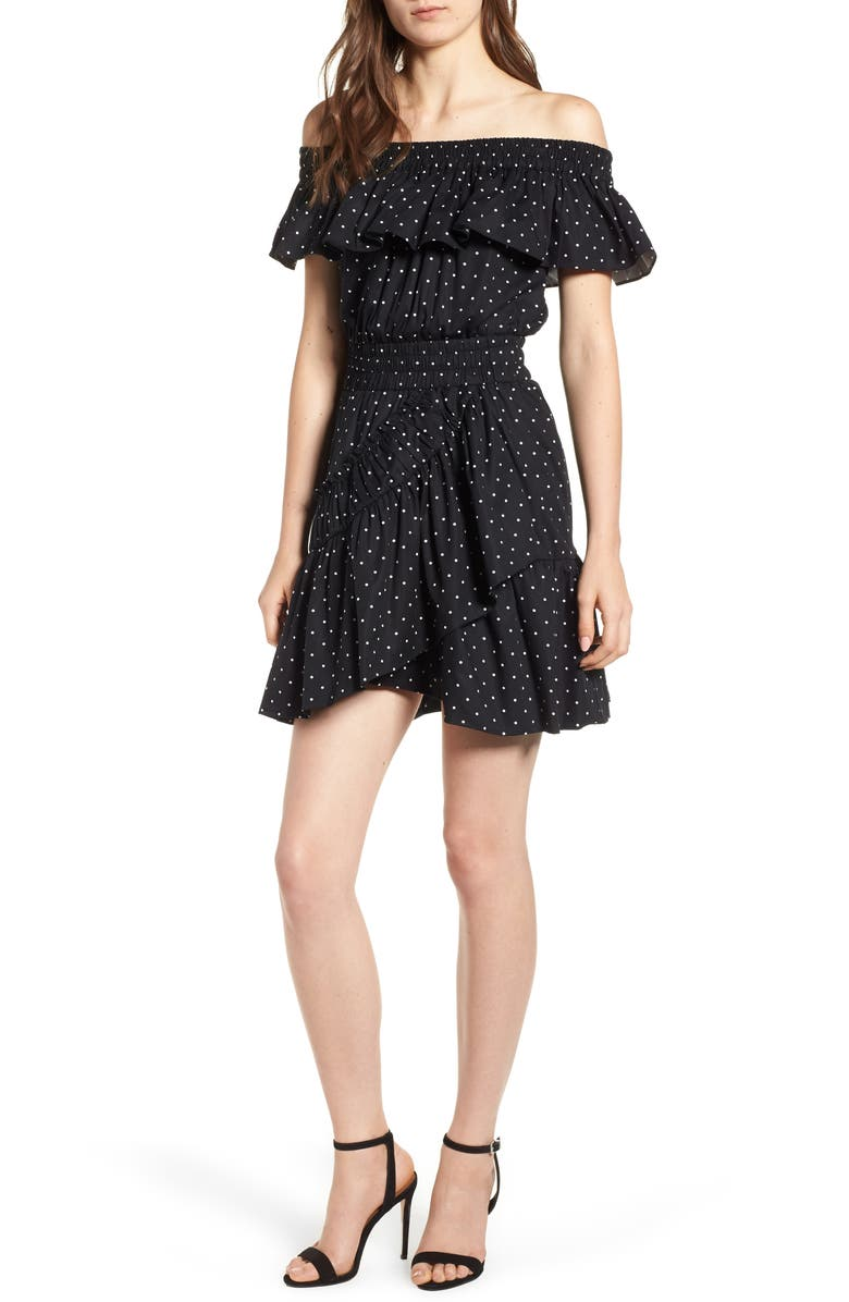 Lavie Off the Shoulder Dress