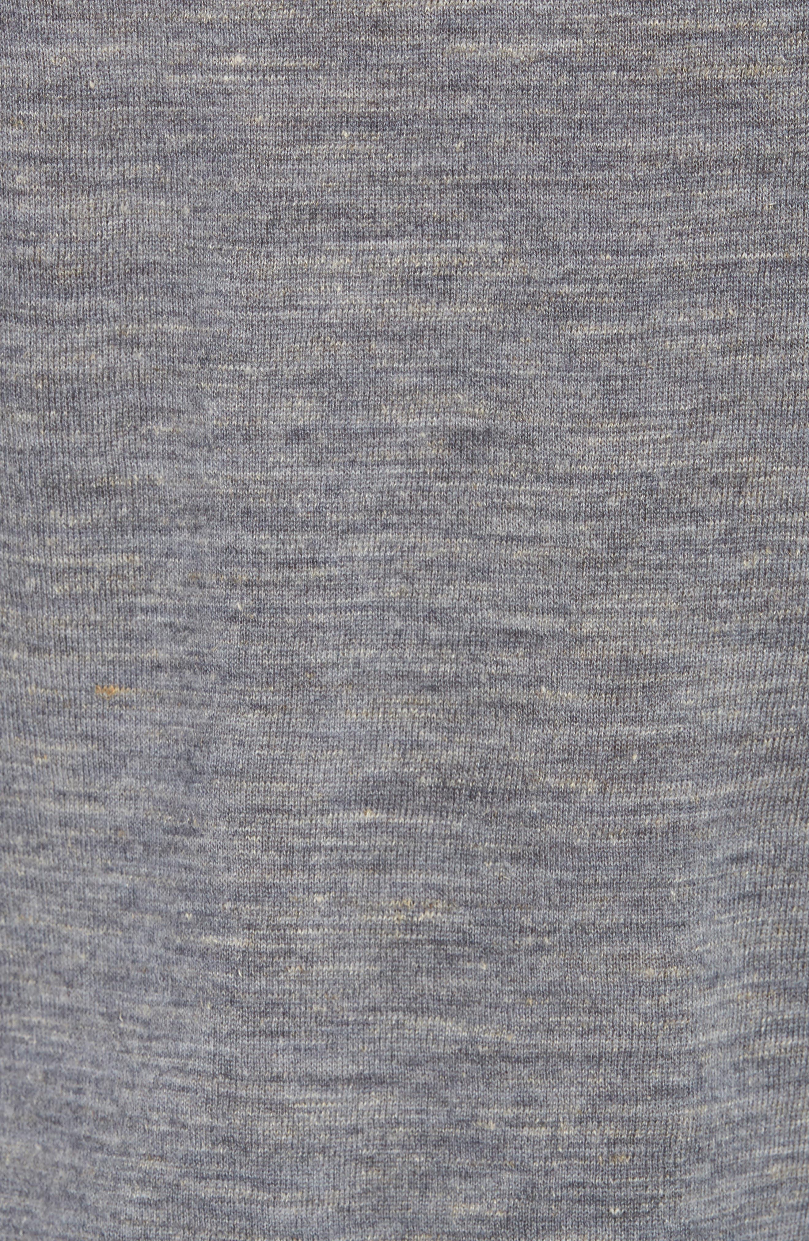 Long Sleeve Pullover Hoodie,                             Alternate thumbnail 5, color,                             Smoke