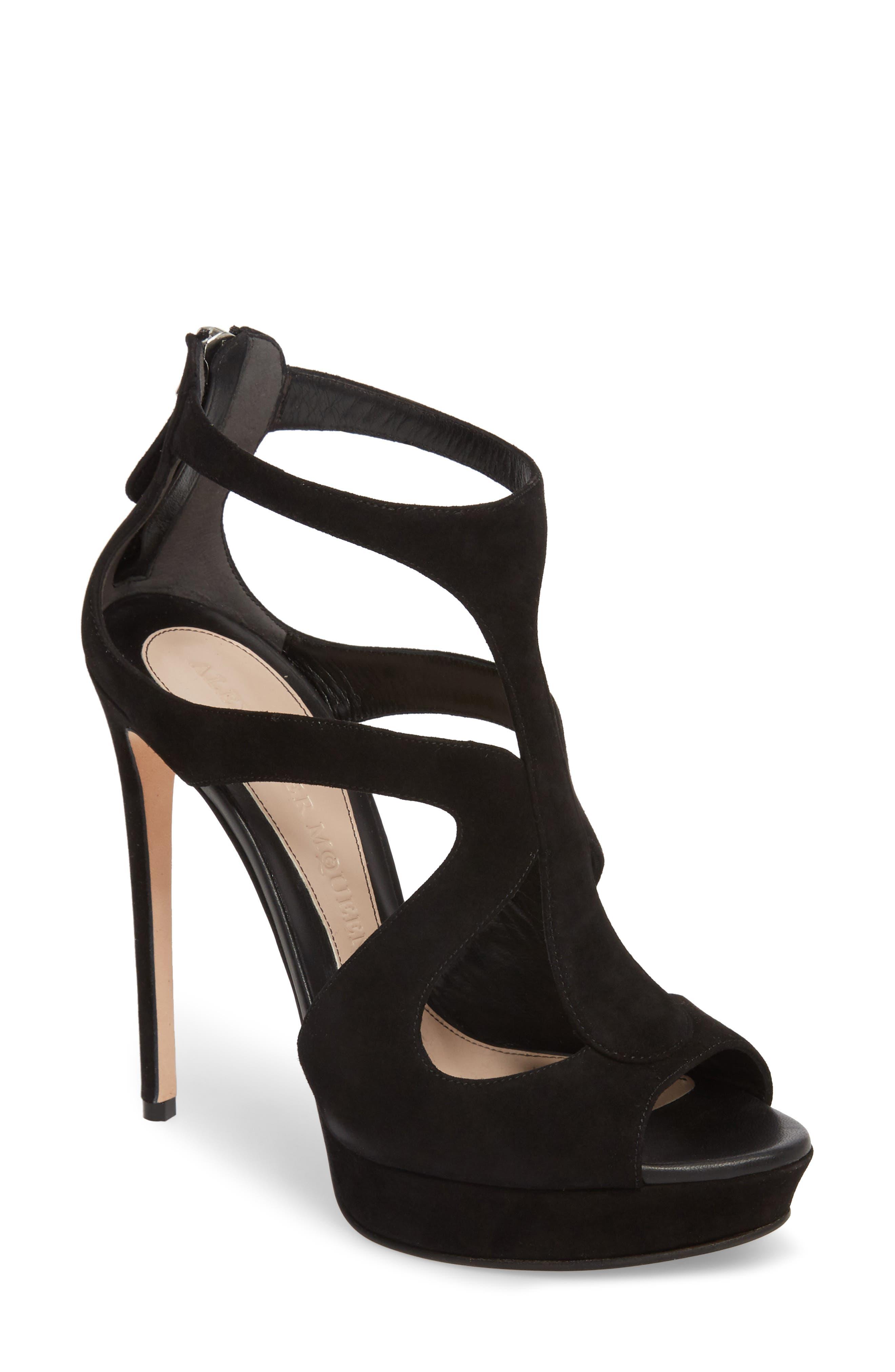 Alexander McQueen Cage Platform Sandal (Women)