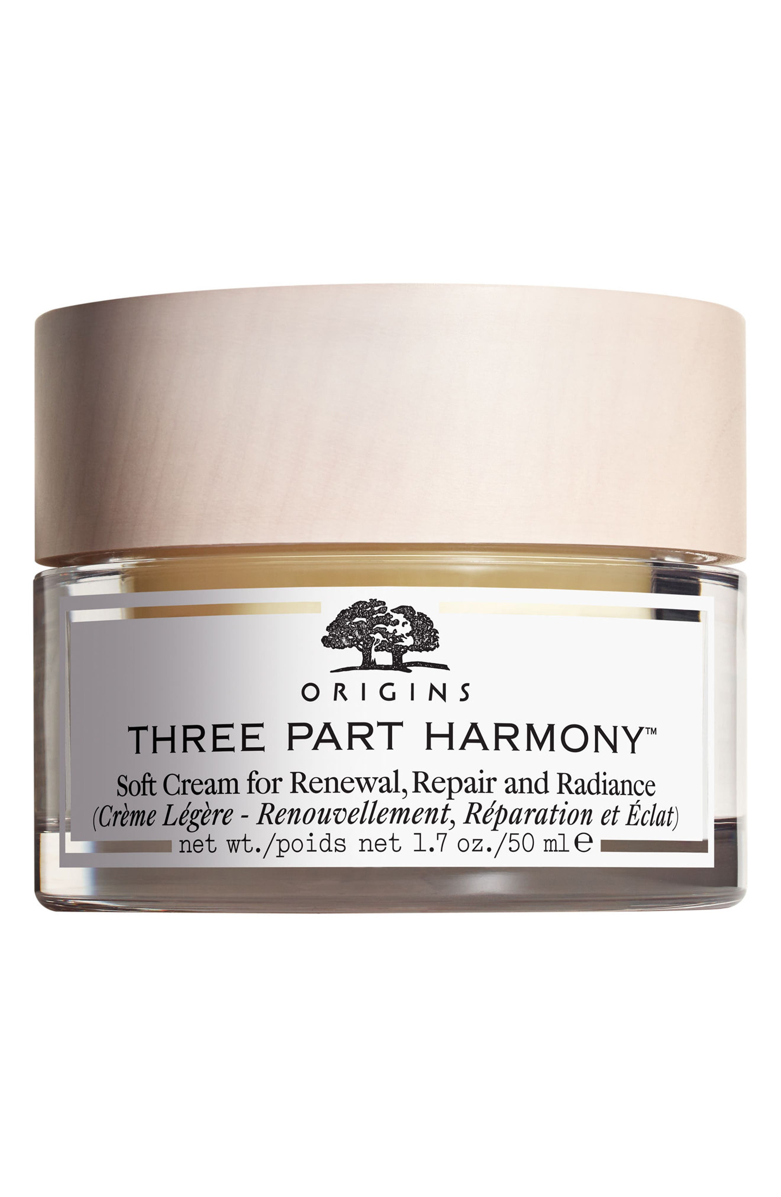 Three Part Harmony<sup>™</sup> Soft Cream for Renewal, Replenishment & Radiance,                         Main,                         color, No Color