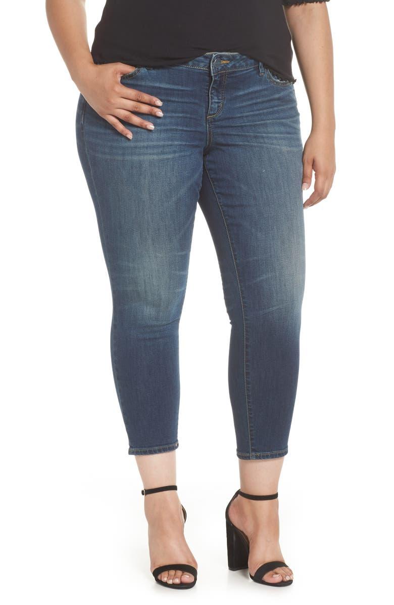 Stretch Ankle Skinny Jeans