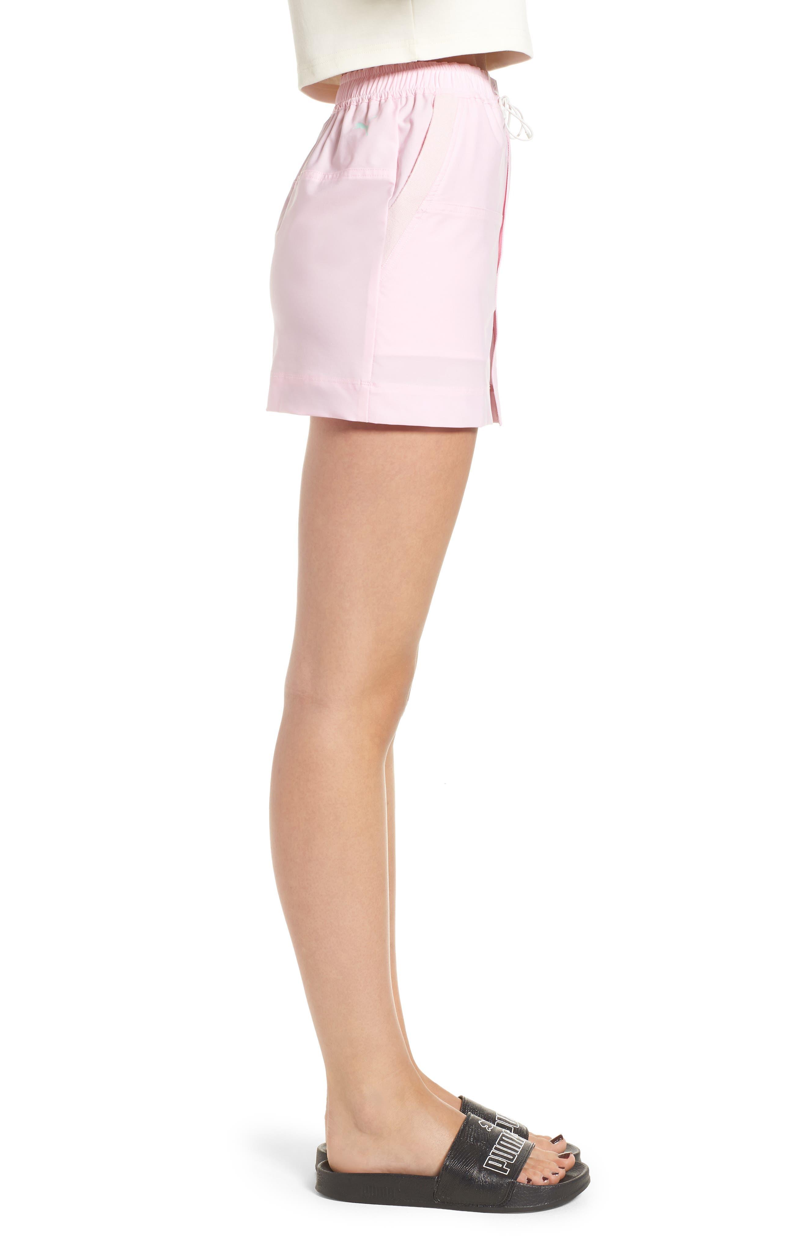 PUMA by Rihanna Board Skirt,                             Alternate thumbnail 3, color,                             Pink Lady