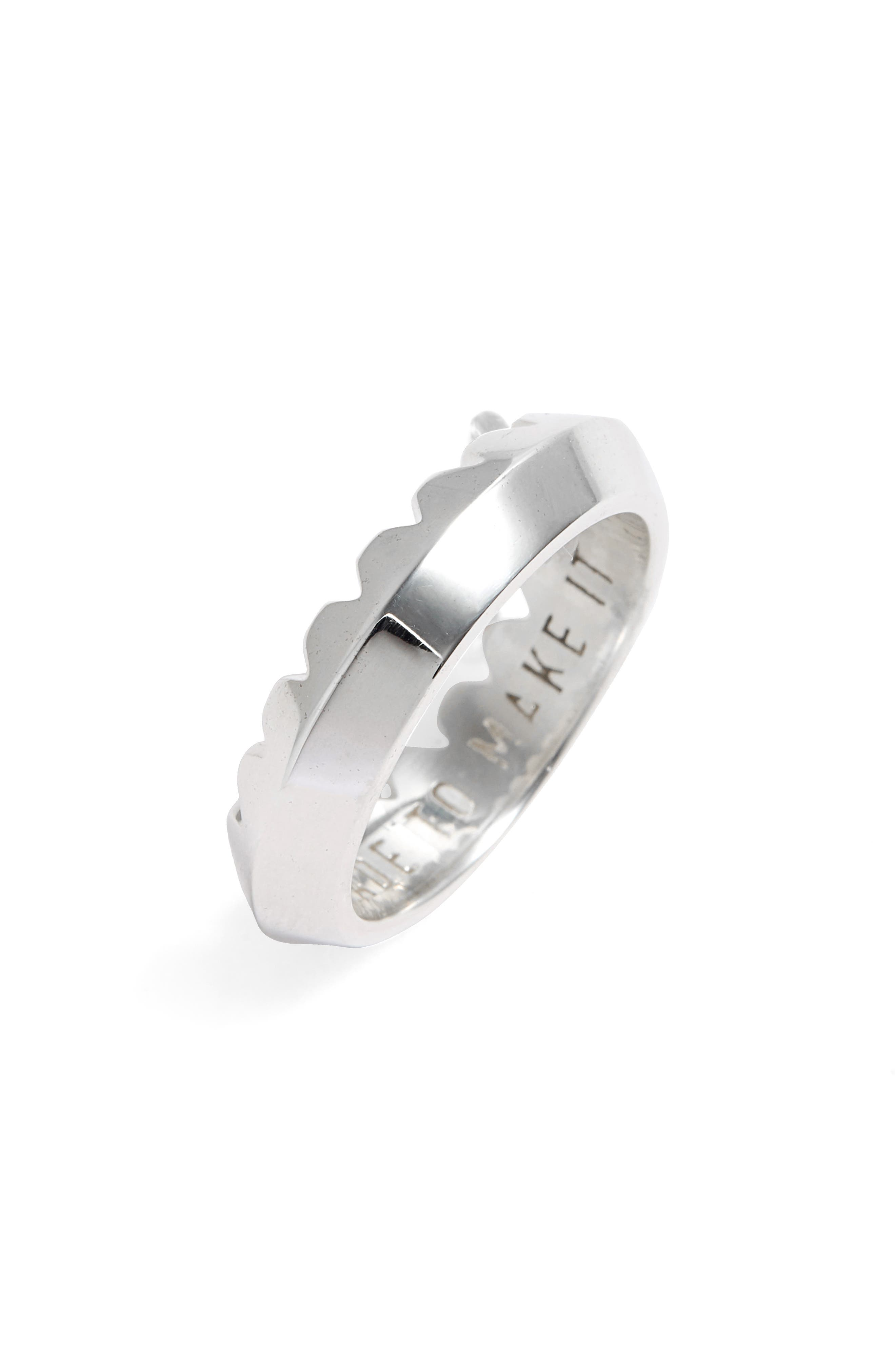 STAMPD Crown Sterling Silver Ring