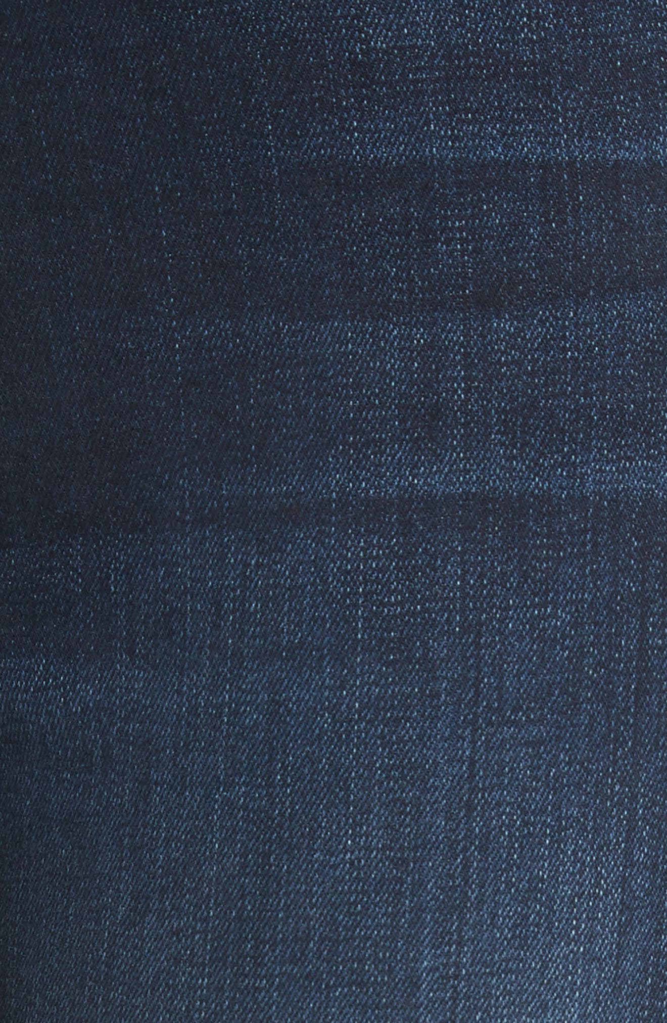 Alternate Image 5  - FRAME Ali High Waist Skinny Jeans (Wayside)