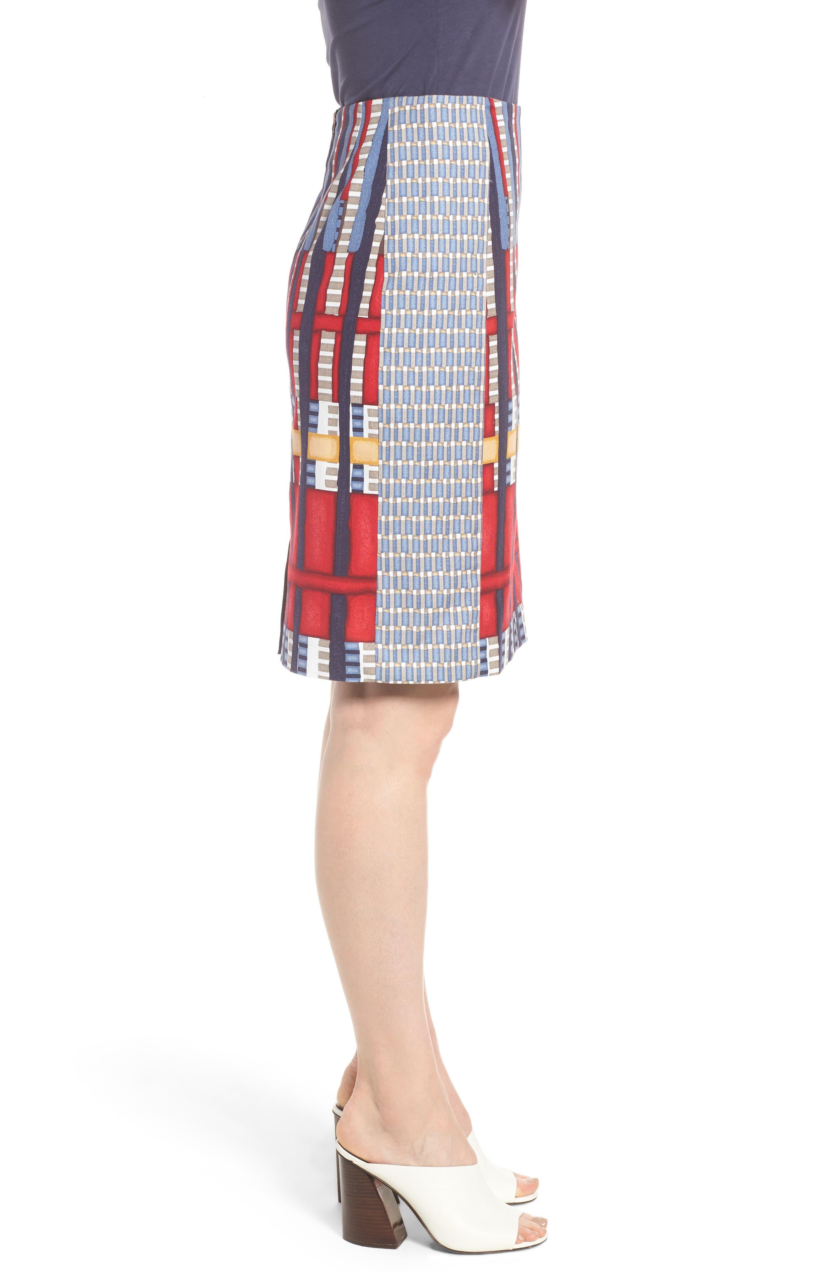 Santiago Hills Block Skirt,                             Alternate thumbnail 3, color,                             Multi