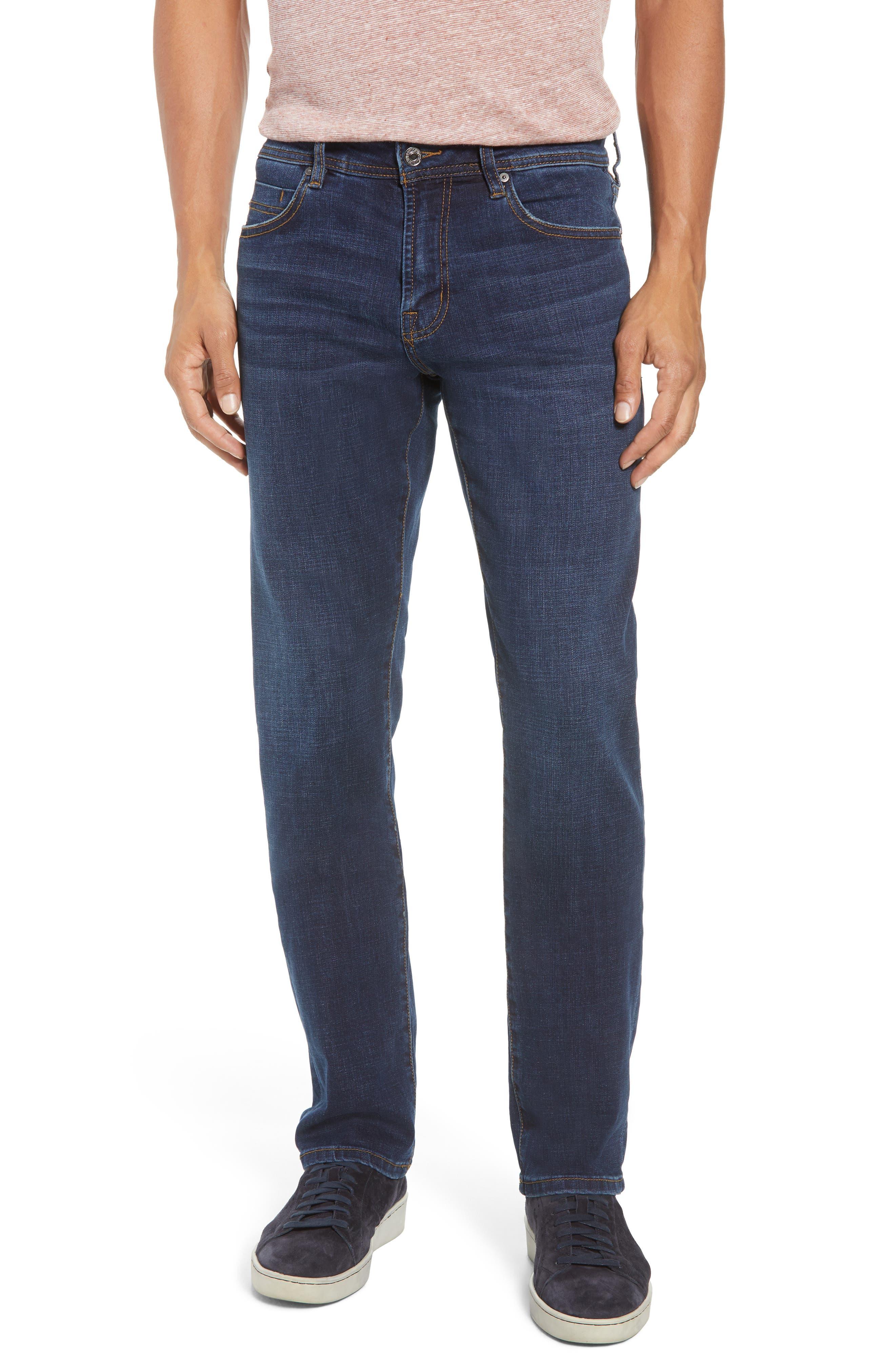 Relaxed Fit Jeans,                             Main thumbnail 1, color,                             Navajo Dark