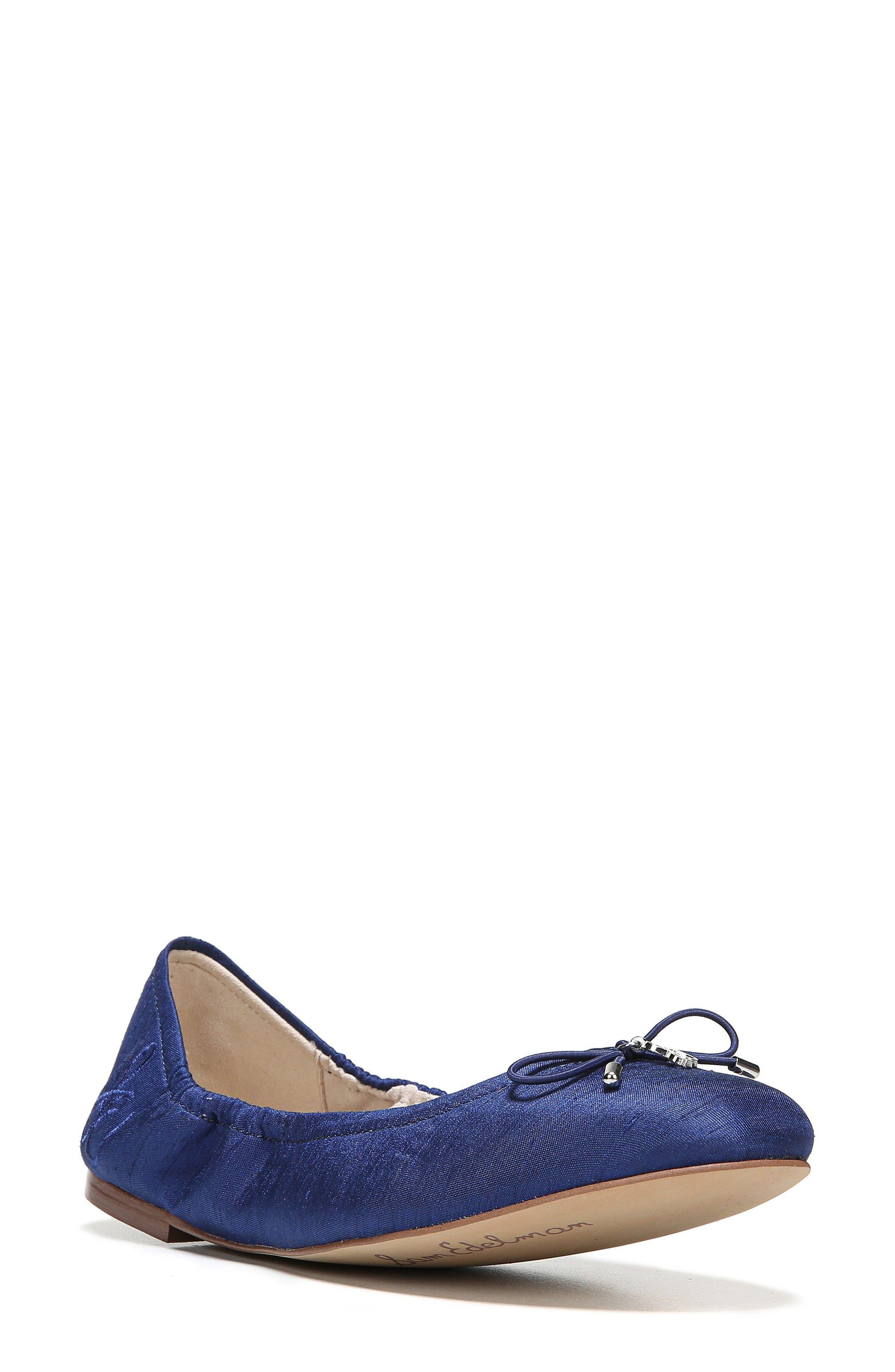 'Felicia' Flat,                         Main,                         color, Blue Nautical